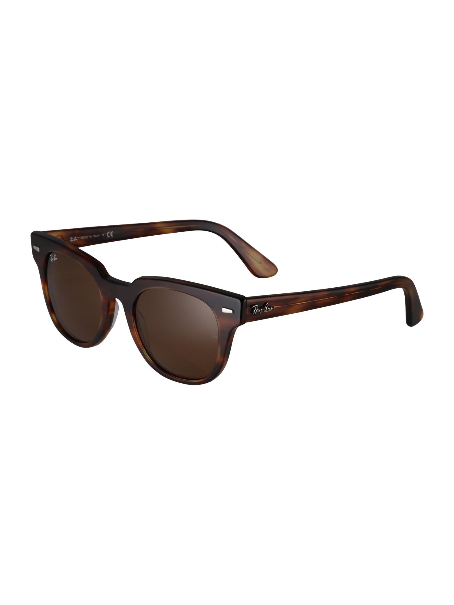 Sluneční brýle METEOR hnědá Ray-Ban