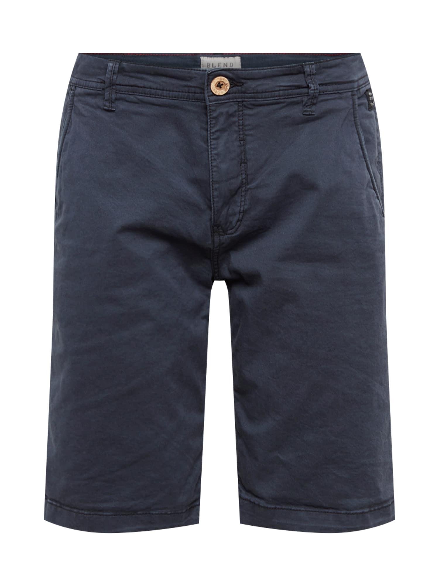 Chino kalhoty tmavě modrá BLEND