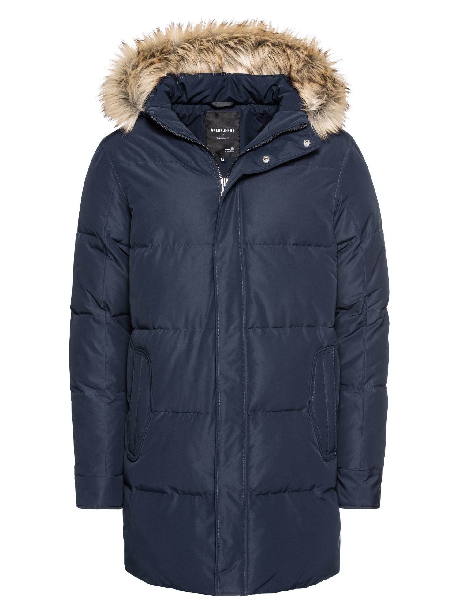 Zimní bunda Arni tmavě modrá Anerkjendt