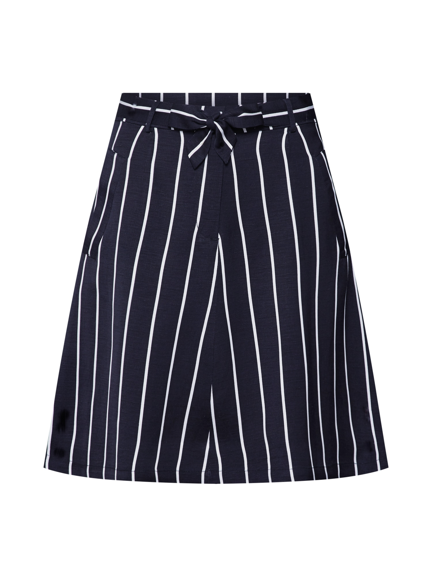 Sukně Striped Linen Skirt modrá Pop Copenhagen