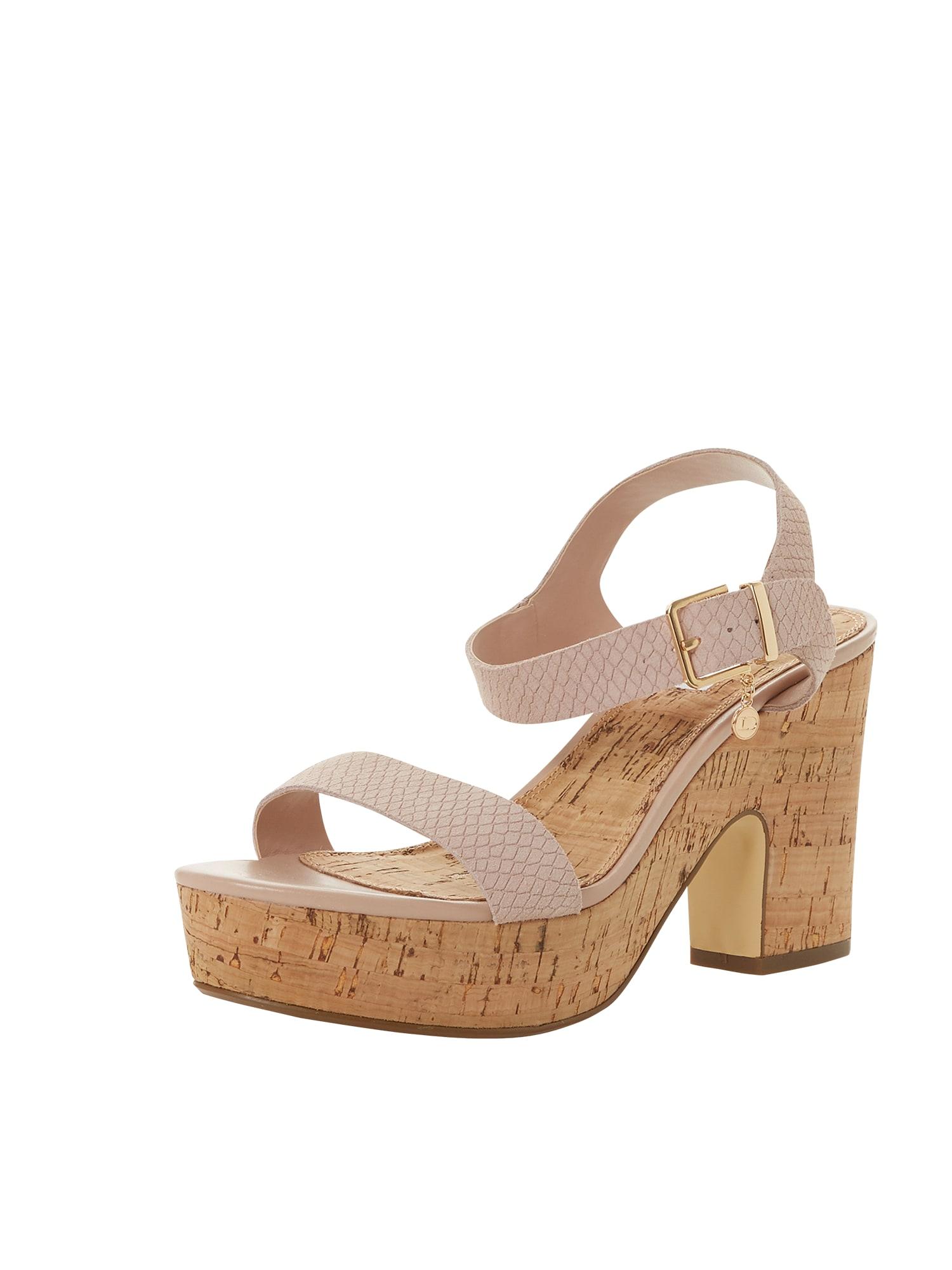 Páskové sandály ILLANA  tělová Dune LONDON
