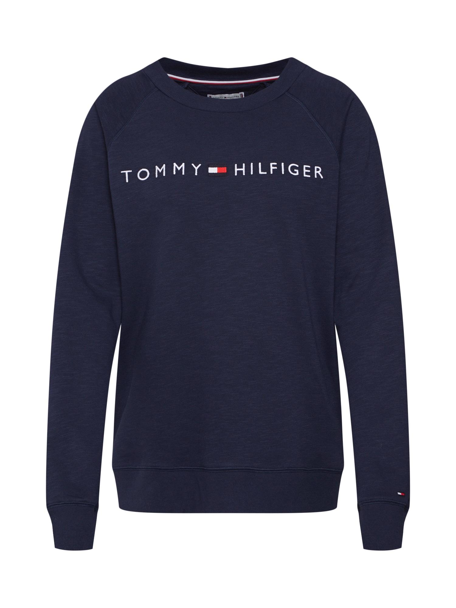 Tričko na spaní námořnická modř Tommy Hilfiger Underwear