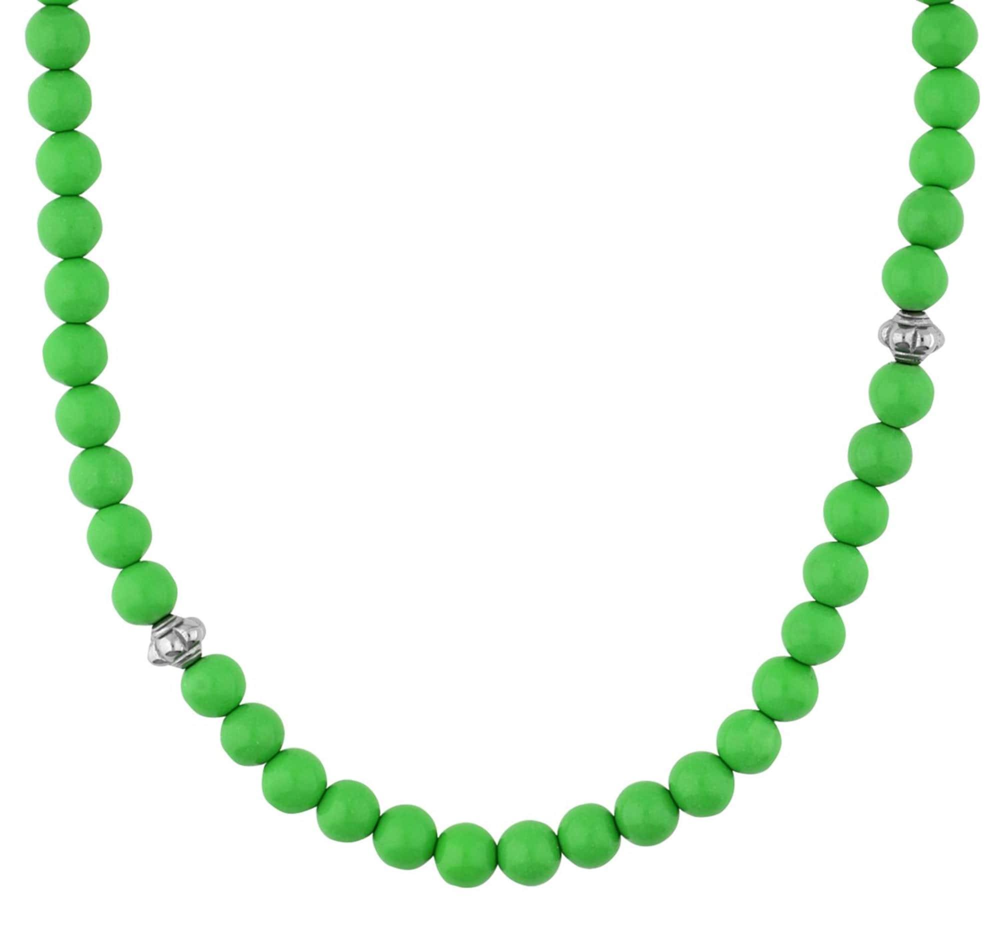 Halskette 'Hot EENL10349H420' | Schmuck > Halsketten > Lange Ketten | Grün | Esprit