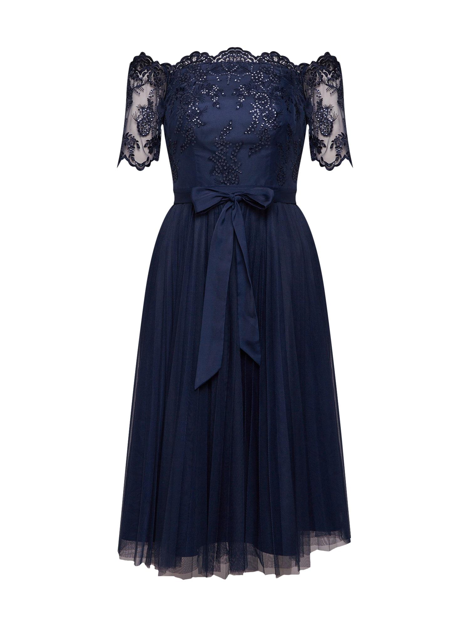 Koktejlové šaty Matilda Tulle Dress námořnická modř Coast