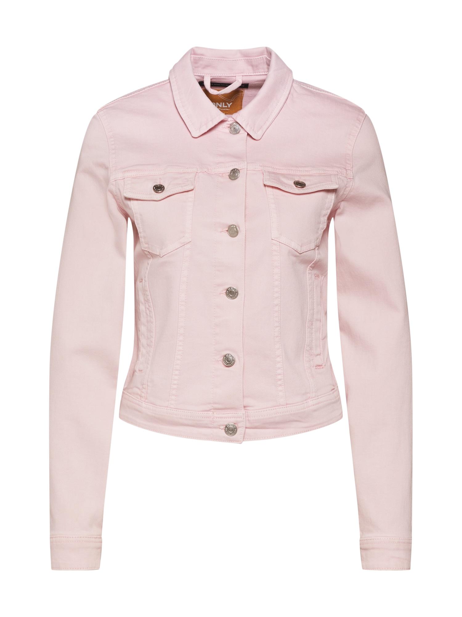 Přechodná bunda Tia růžová ONLY