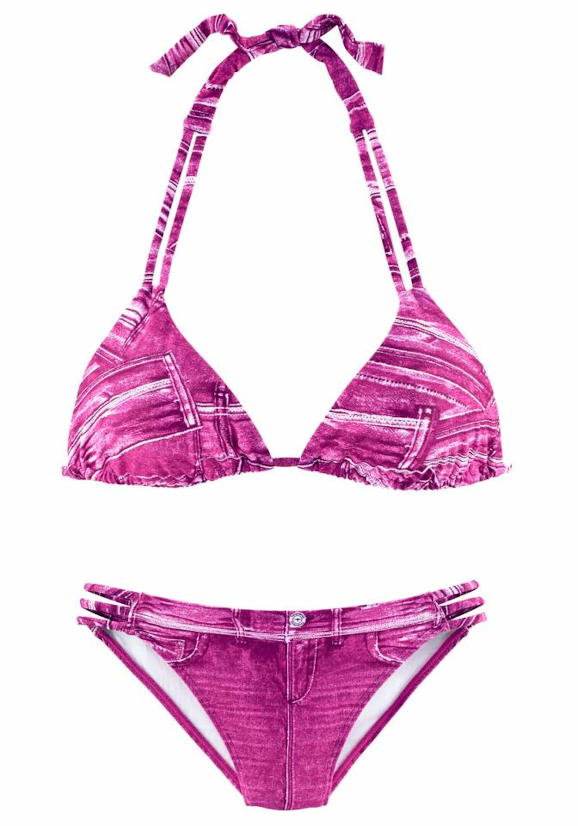 Image of Triangel-Bikini in Jeansoptik
