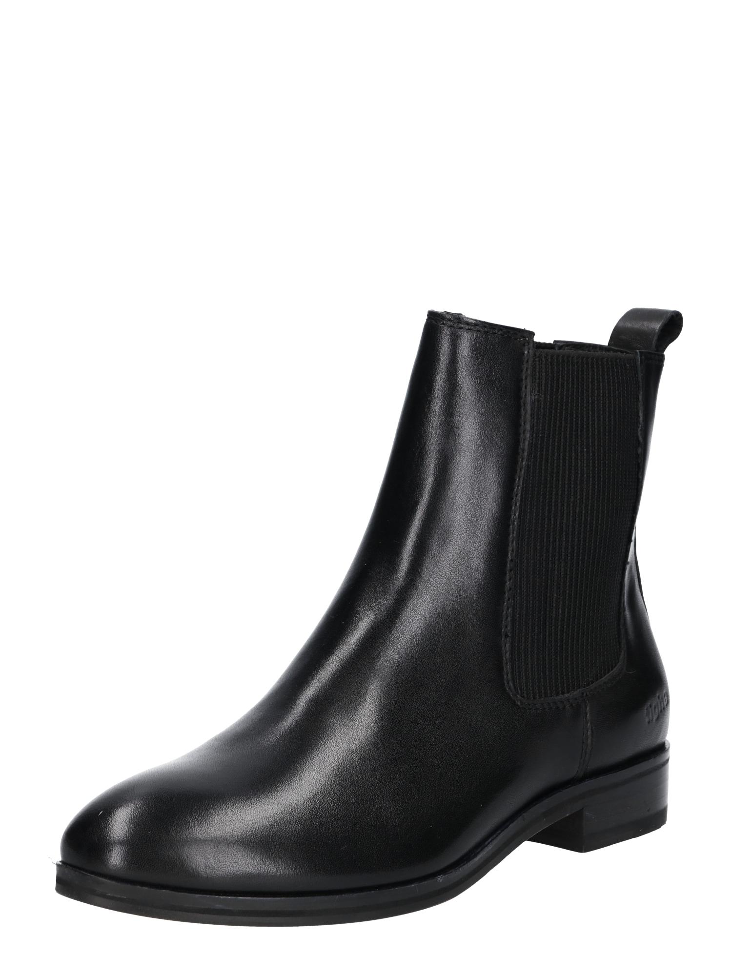 Chelsea boty Anine 500 černá Tigha