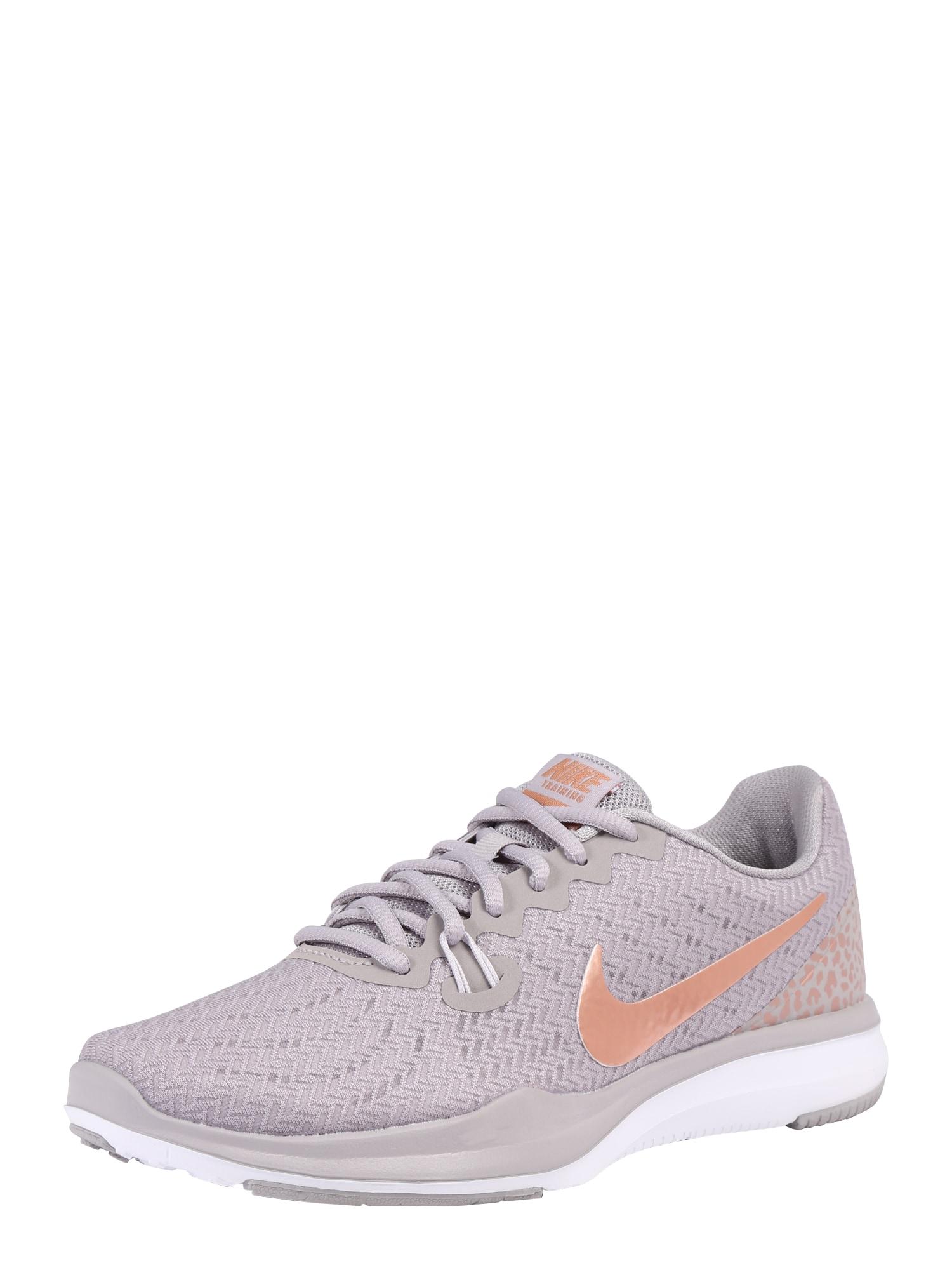Sportovní boty In-Season 7 bronzová světle šedá NIKE