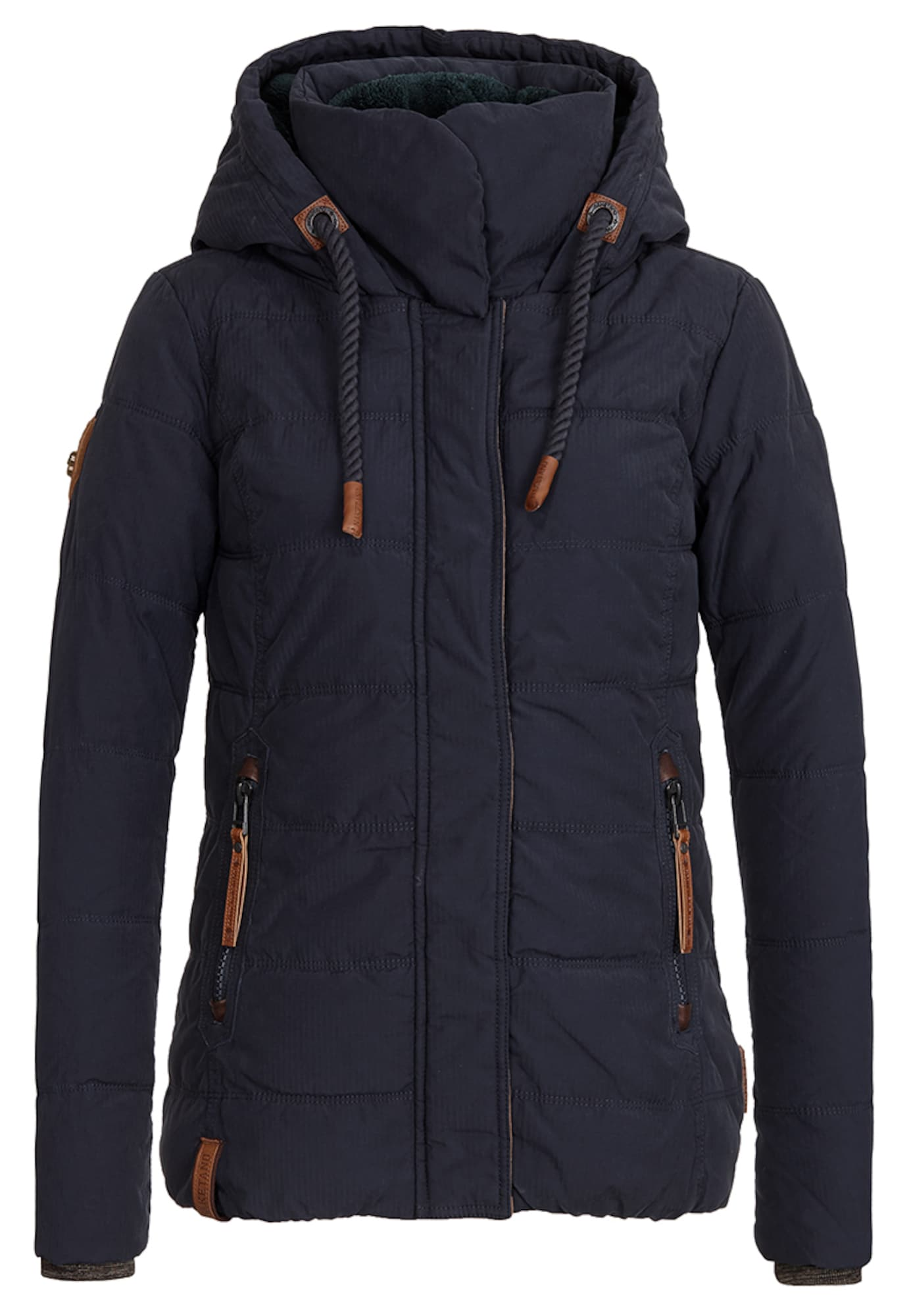 Zimní bunda Pronto Salvatore tmavě modrá Naketano