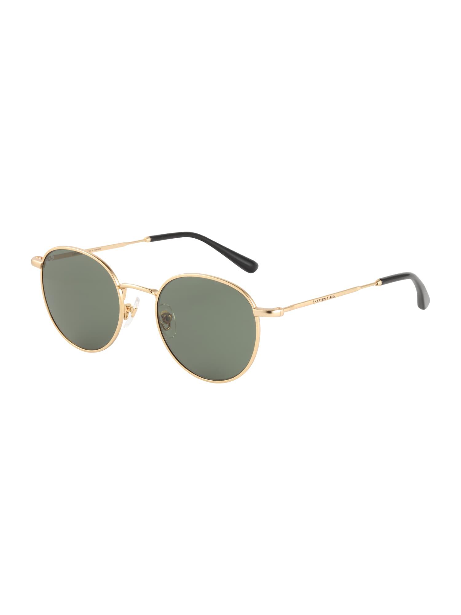 Sluneční brýle London zlatá zelená Kapten & Son