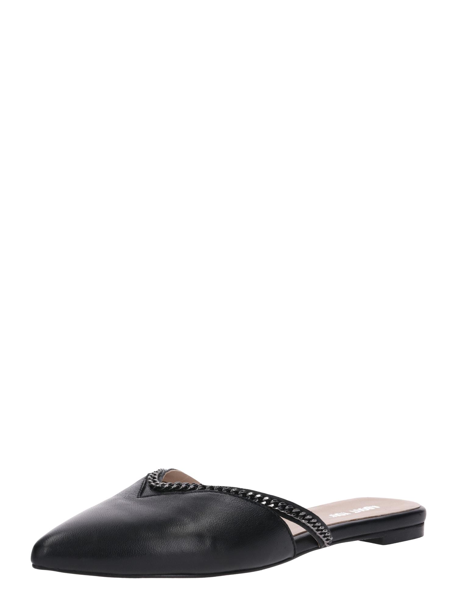 Pantofle Joana černá ABOUT YOU