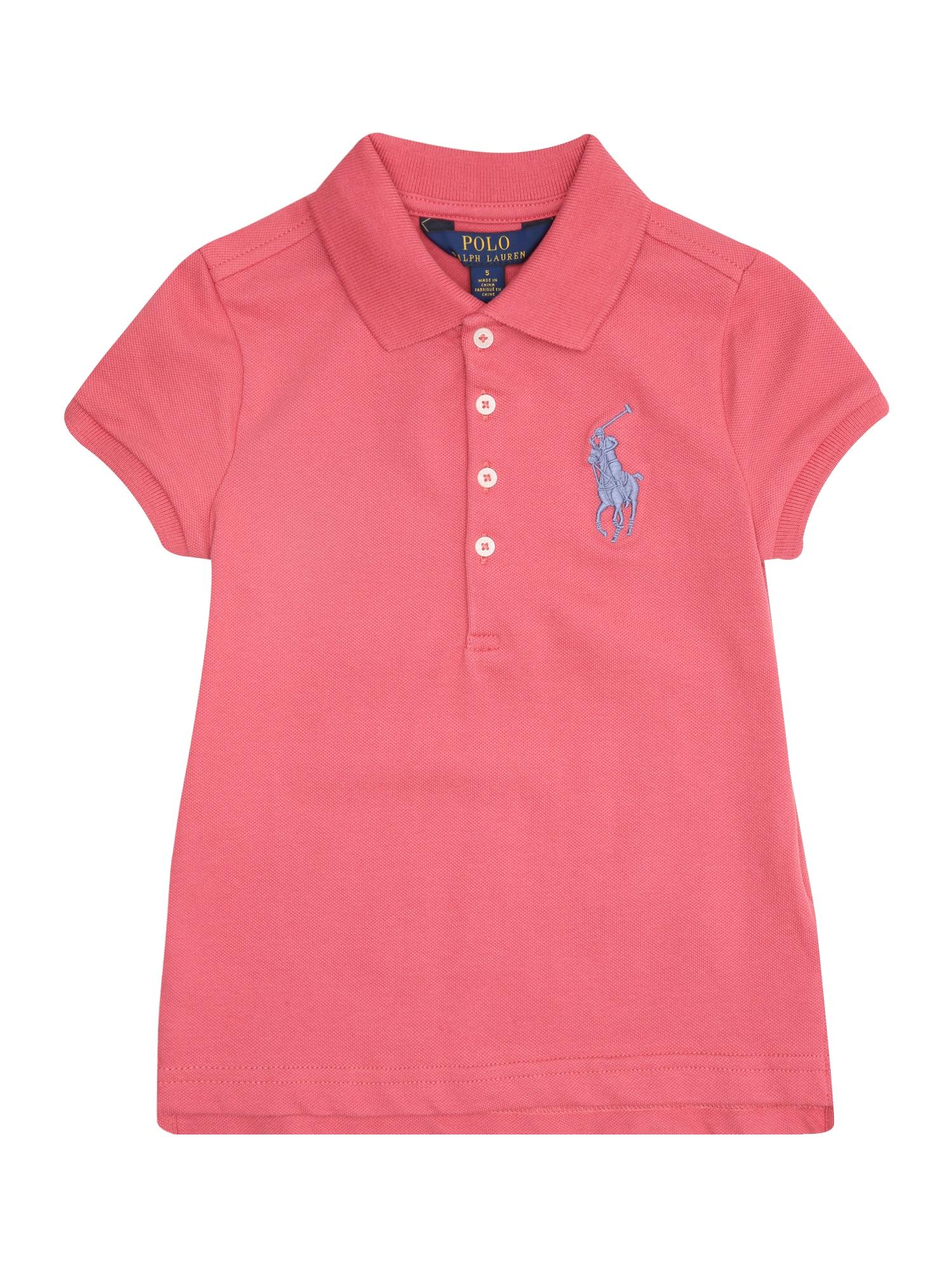 Tričko pink POLO RALPH LAUREN