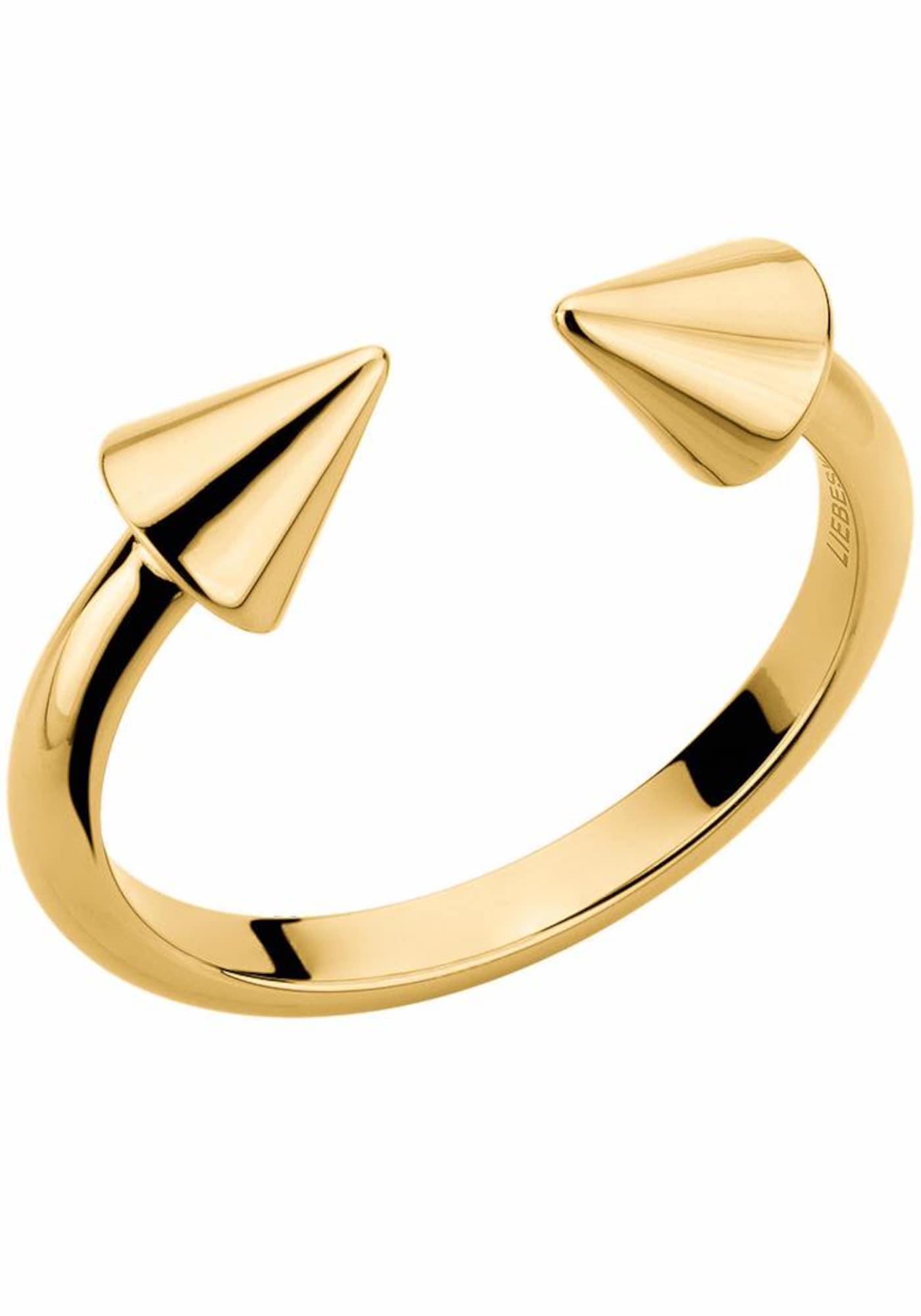 Fingerring 'LJ-0110-R' | Schmuck > Ringe > Fingerringe | Gold | liebeskind berlin