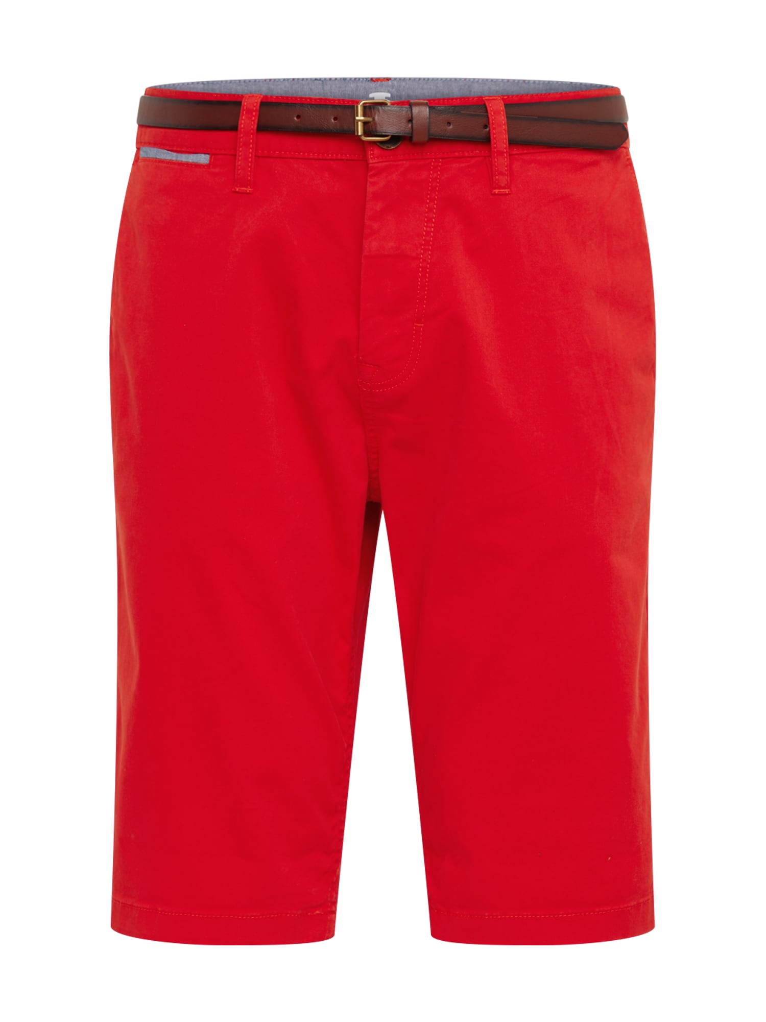 Chino kalhoty červená TOM TAILOR