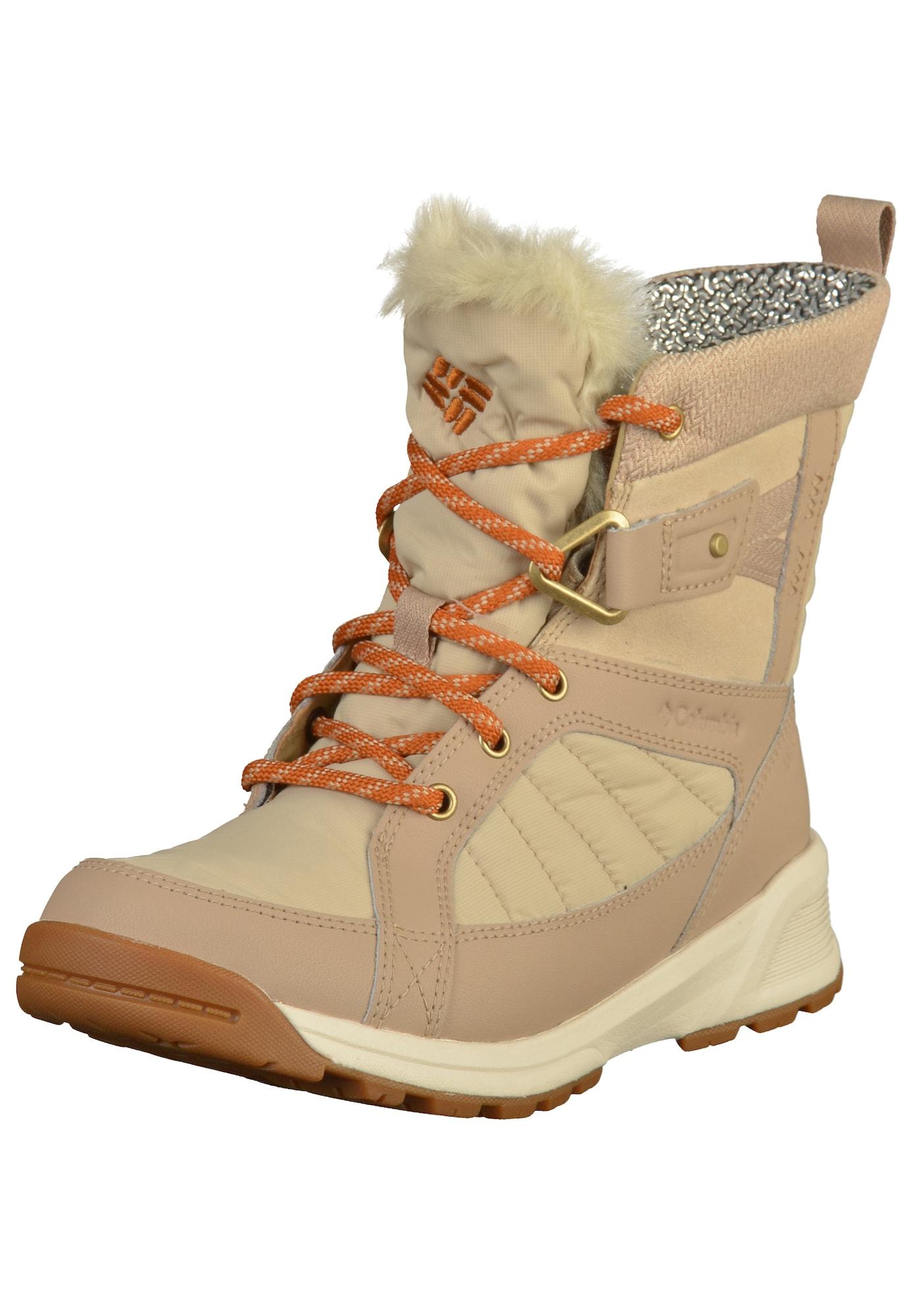 Winterstiefel 'Meadows Shorty Omni-Heat 3D' | Schuhe > Stiefel > Winterstiefel | Hellbeige - Cappuccino | Columbia