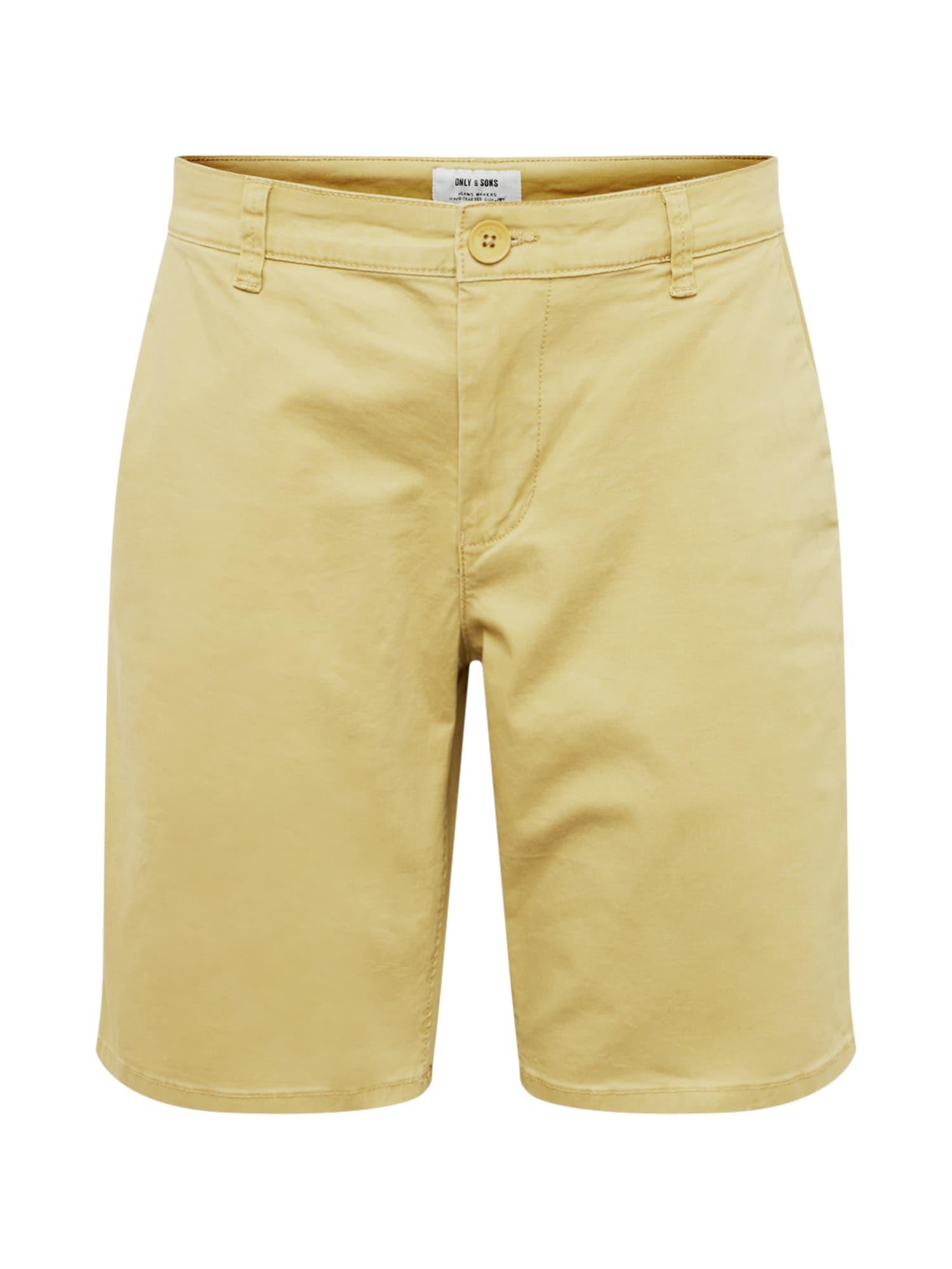 Chino kalhoty onsCAM khaki Only & Sons