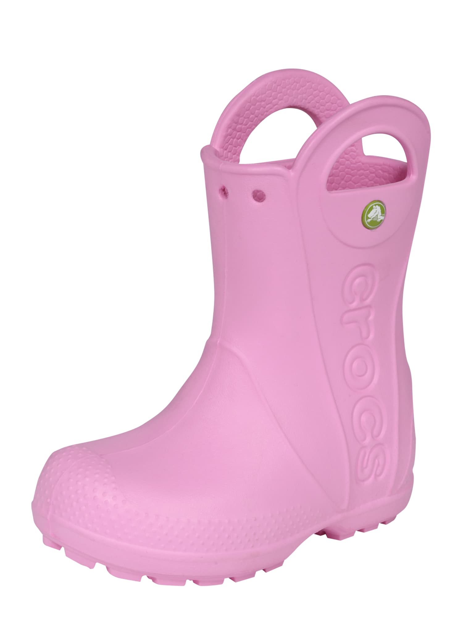 Gumové holínky Handle It Rain pink Crocs