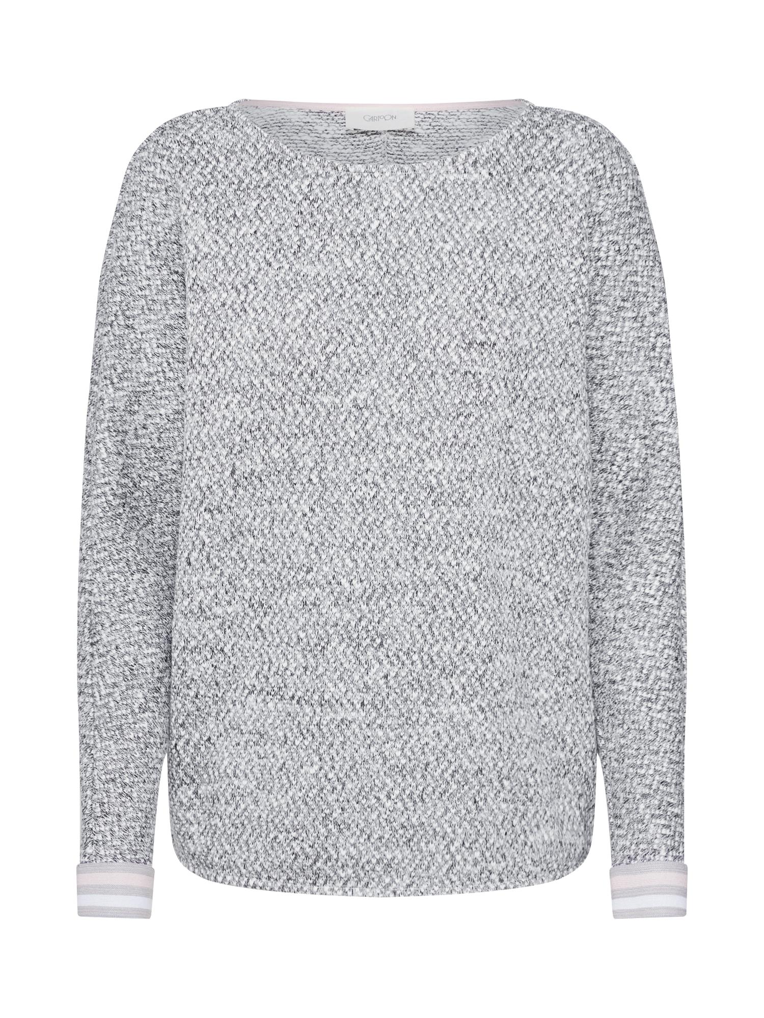 Tričko krémová šedá Cartoon
