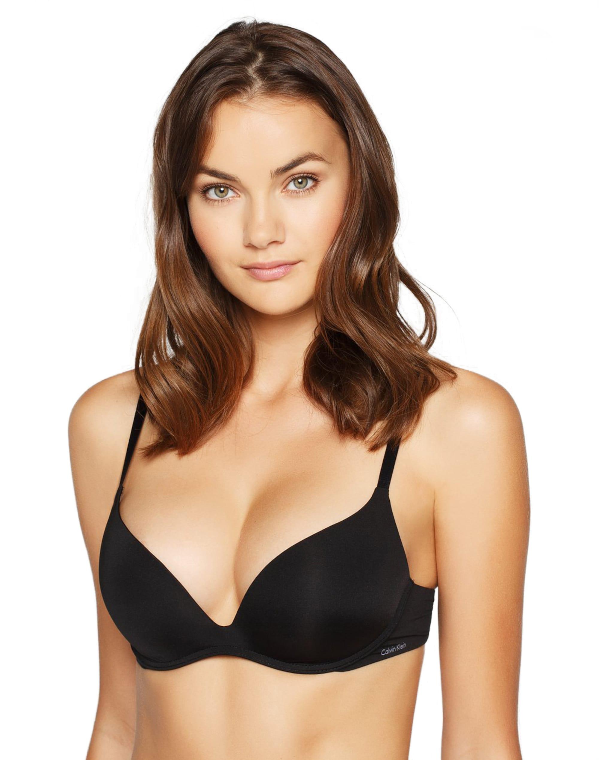 Calvin Klein Underwear Biustonosz 'Positive'  czarny