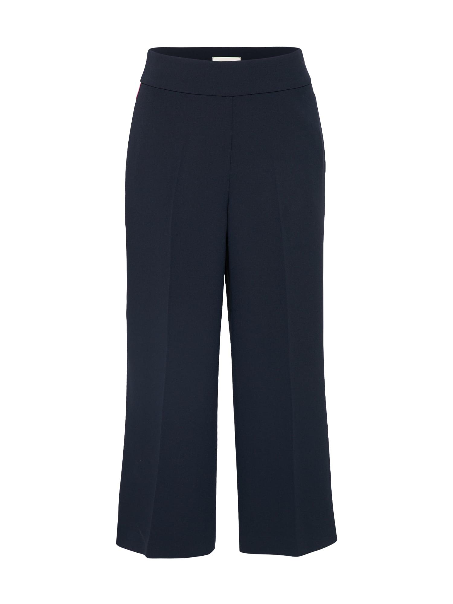 Kalhoty tmavě modrá pink Talkabout