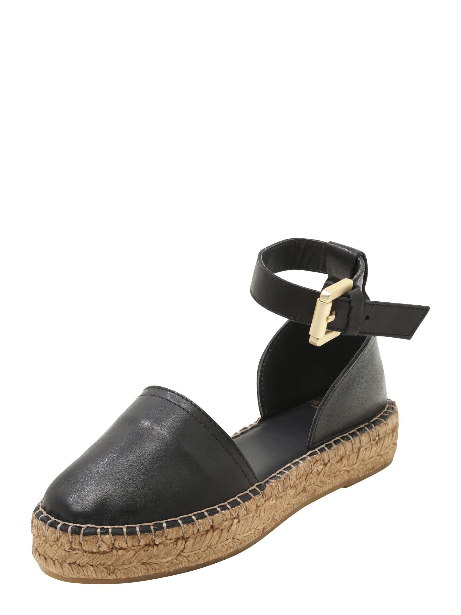 Páskové sandály WAYFARER černá ROYAL REPUBLIQ