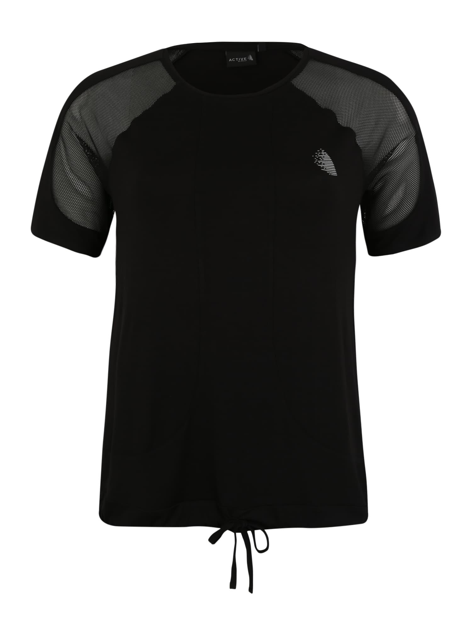 Funkční tričko ACADY černá Active By Zizzi