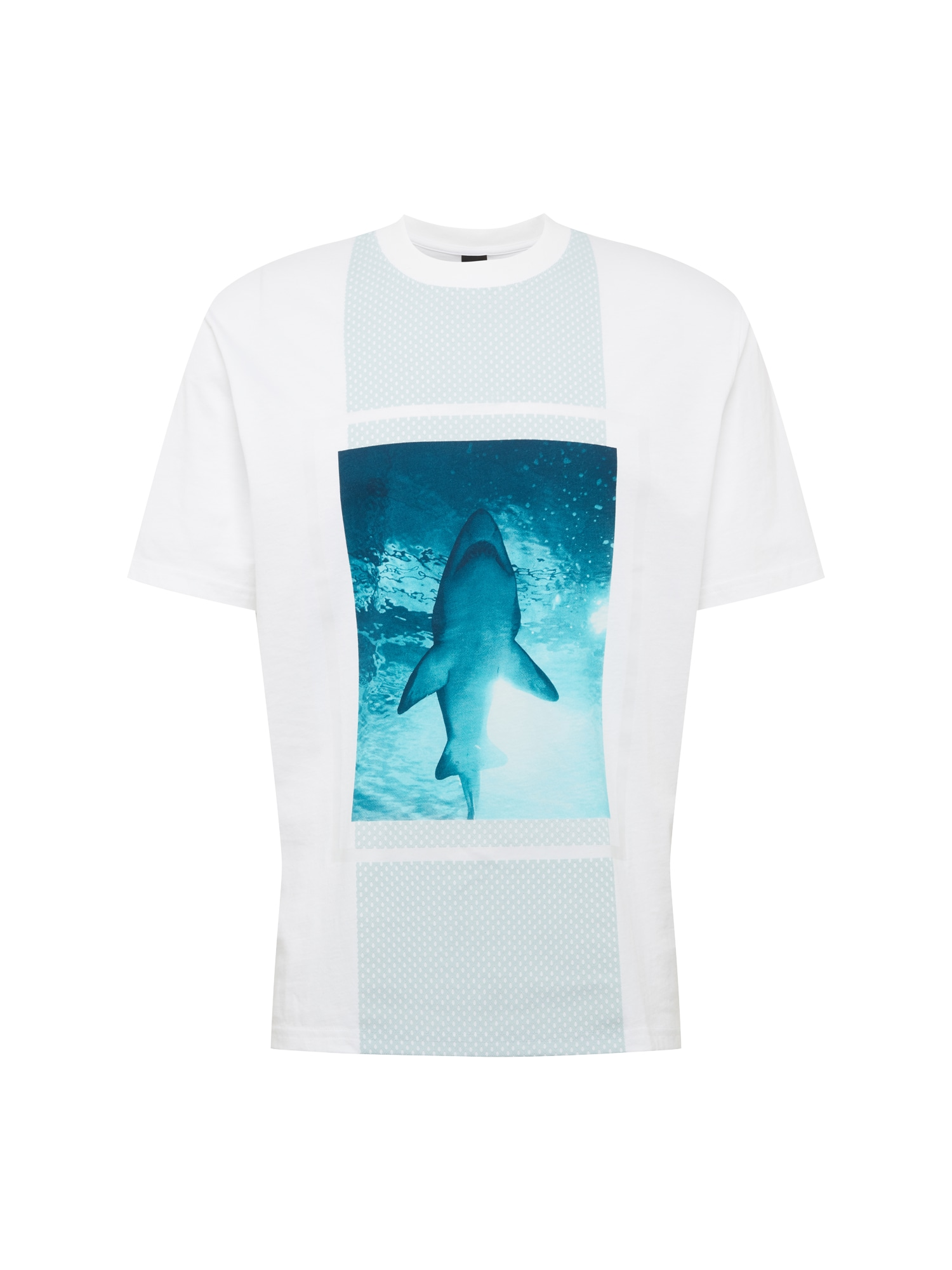 Tričko TPool 3 modrá bílá BOSS
