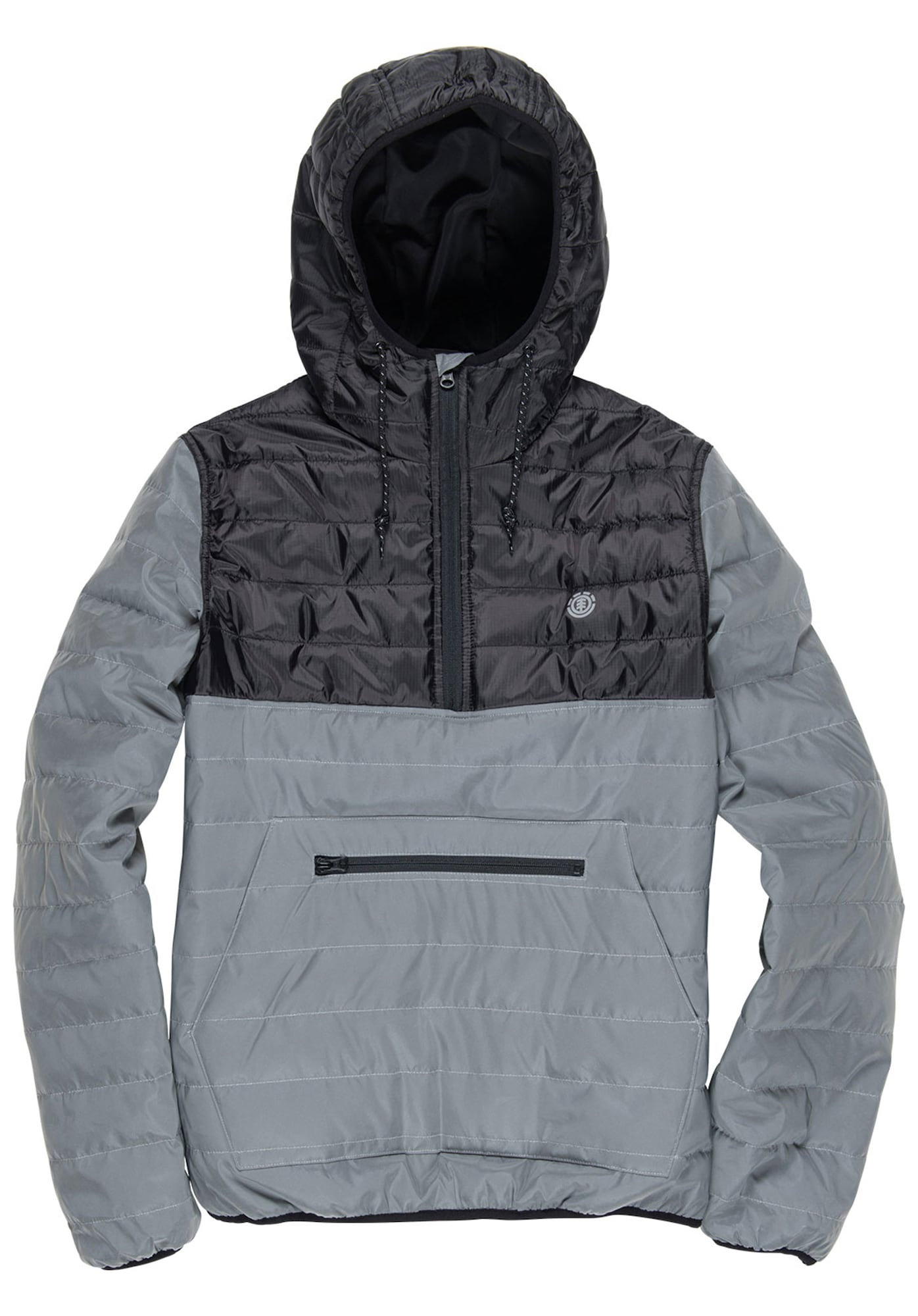 Alder Puff Pop Twill Outdoorweste | Sportbekleidung > Sportwesten > Outdoorwesten | Grau - Dunkelgrau | Element