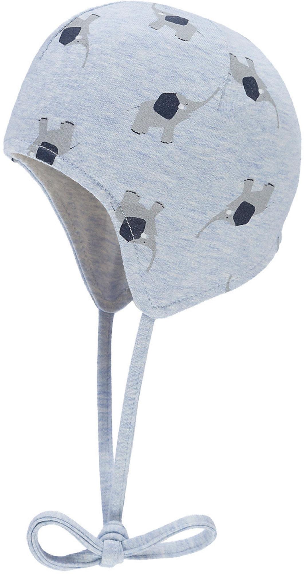 Wende Erstlingsmütze mit UV Schutz 30