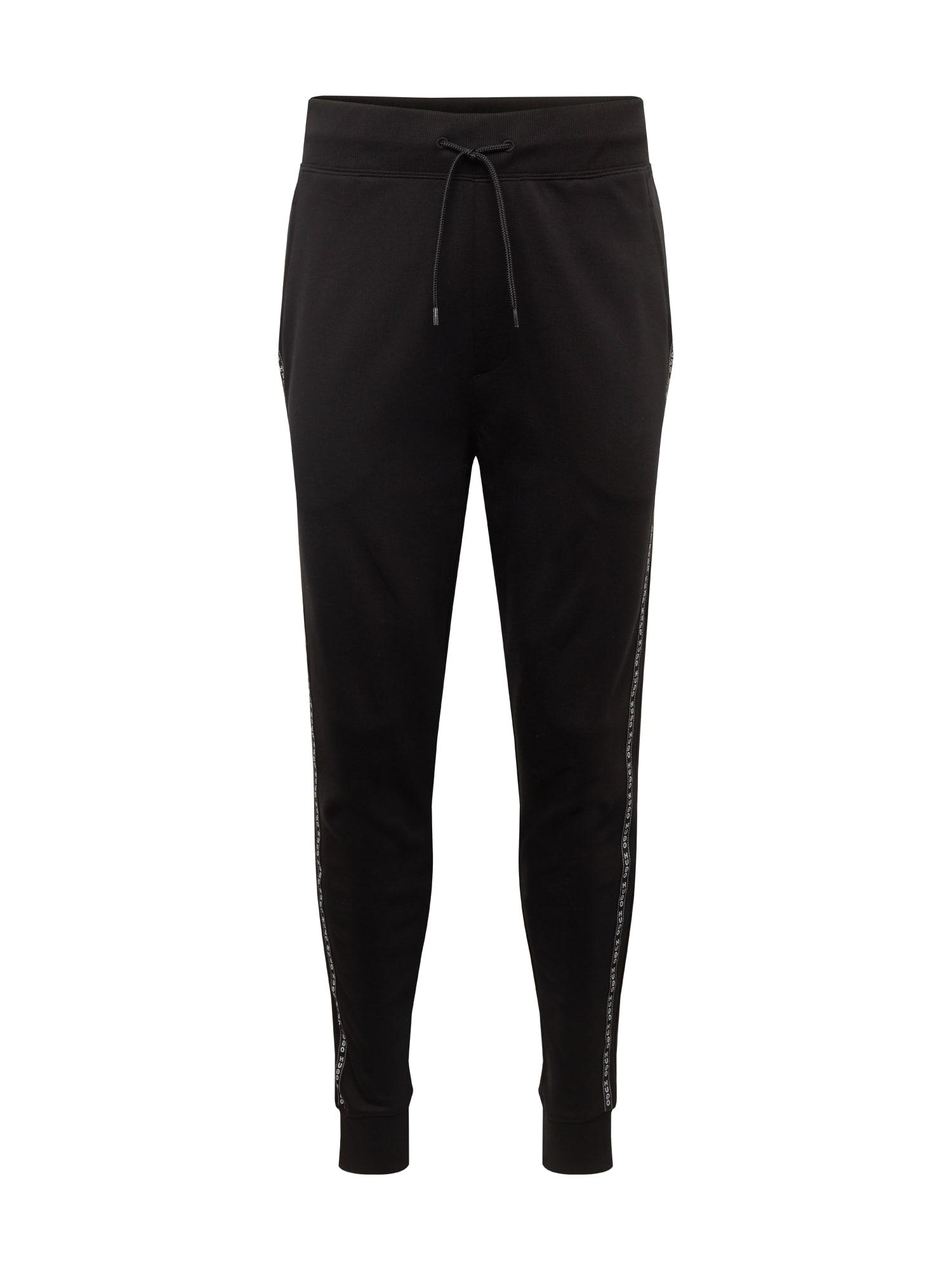 Kalhoty Drapani černá HUGO