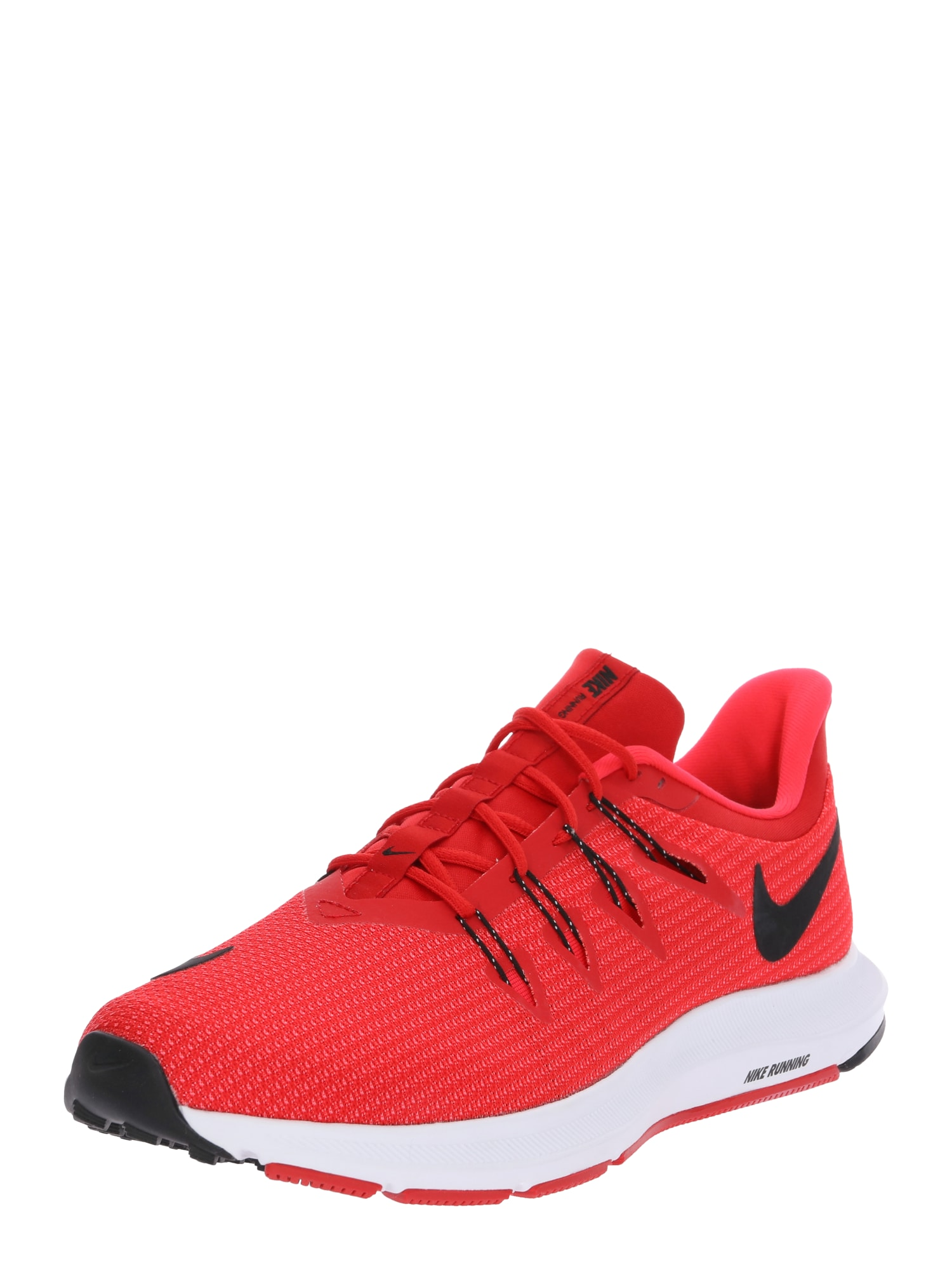 Běžecká obuv QUEST červená černá bílá NIKE