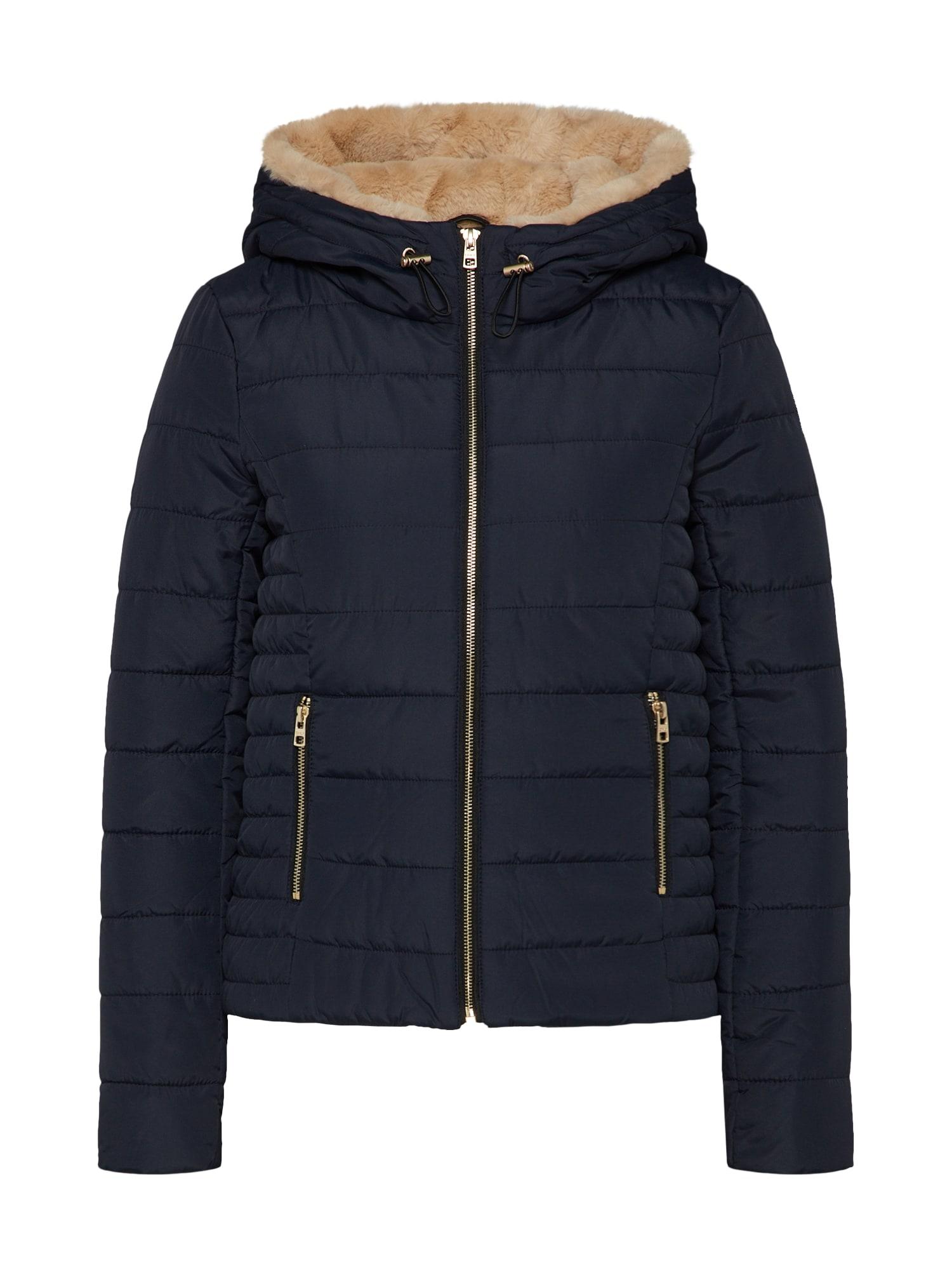 Zimní bunda tmavě modrá ONLY
