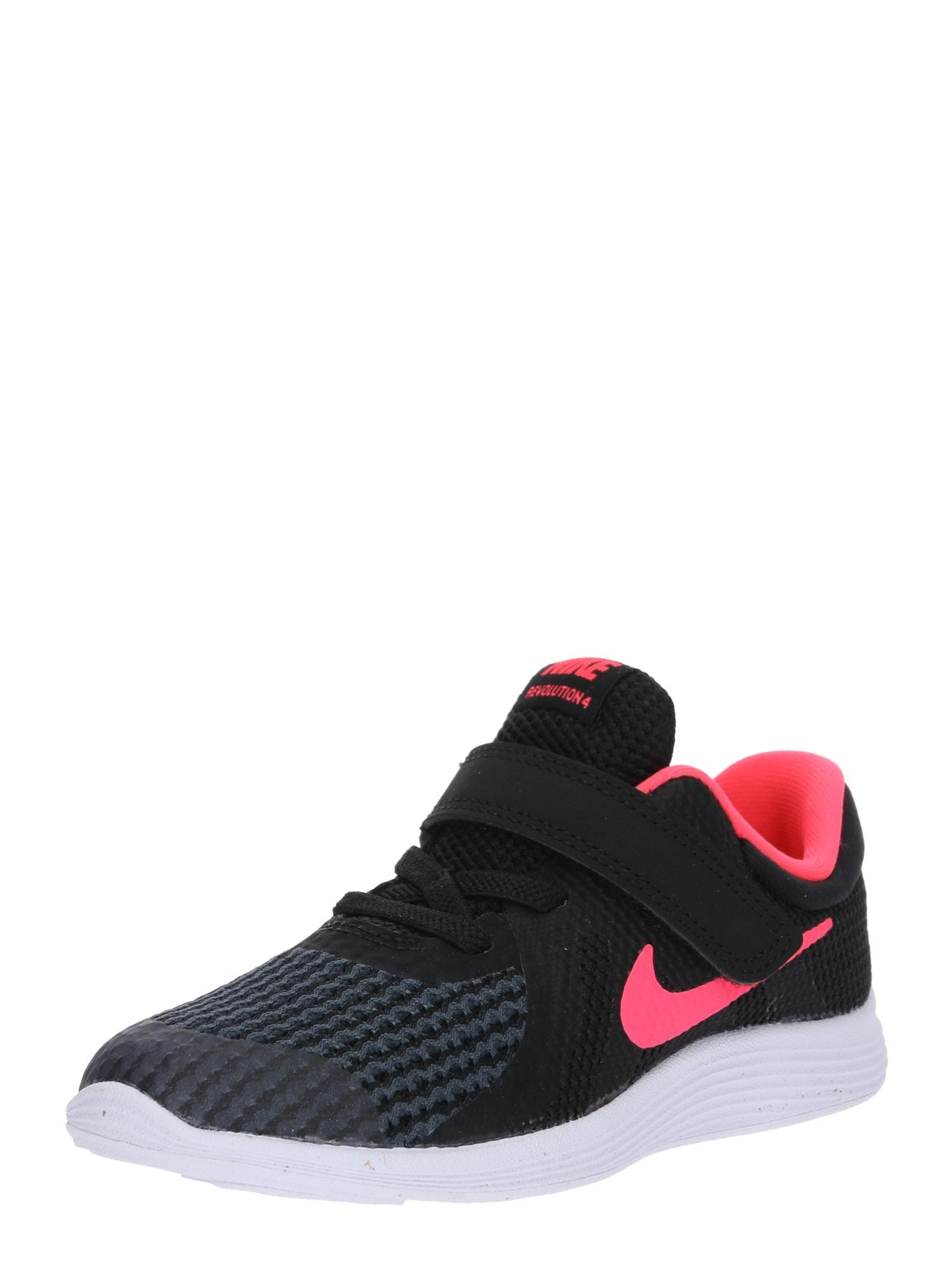 Sportovní boty Revolution 4 pink černá bílá NIKE