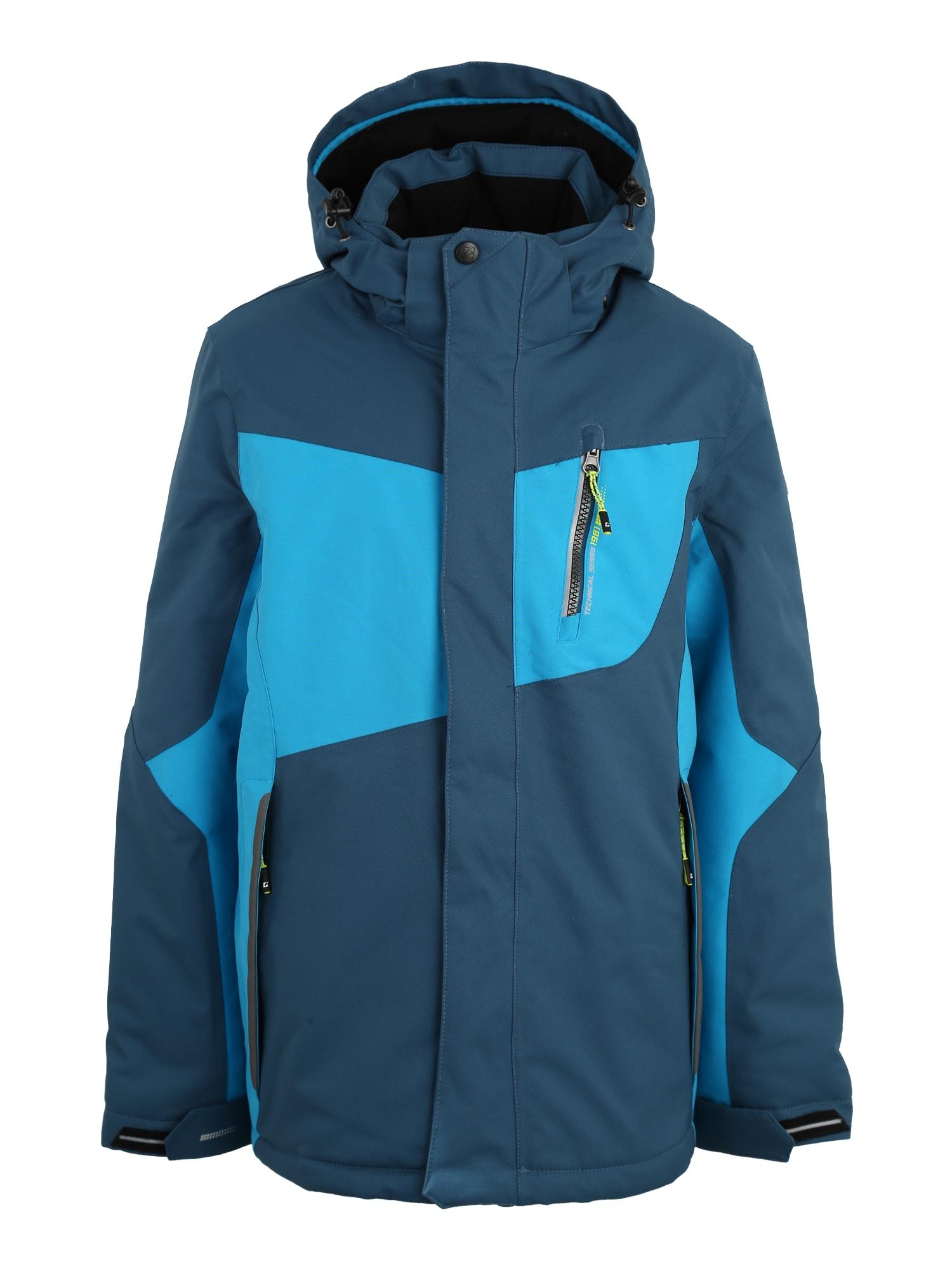 Outdoorová bunda Layto aqua modrá tmavě modrá KILLTEC