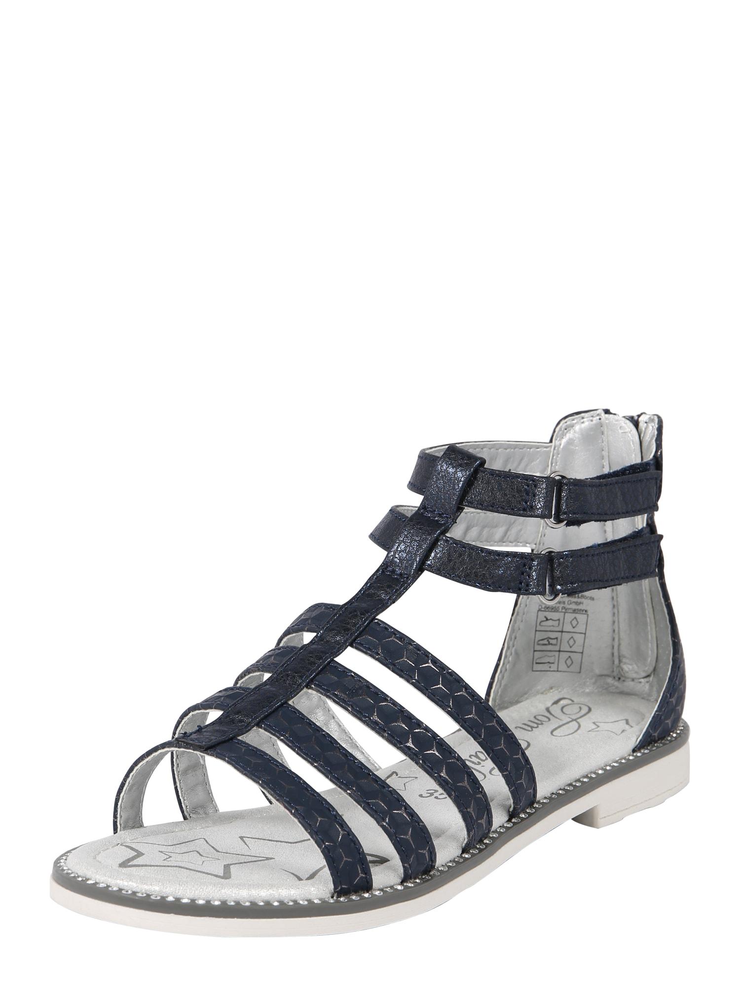 Sandály námořnická modř TOM TAILOR