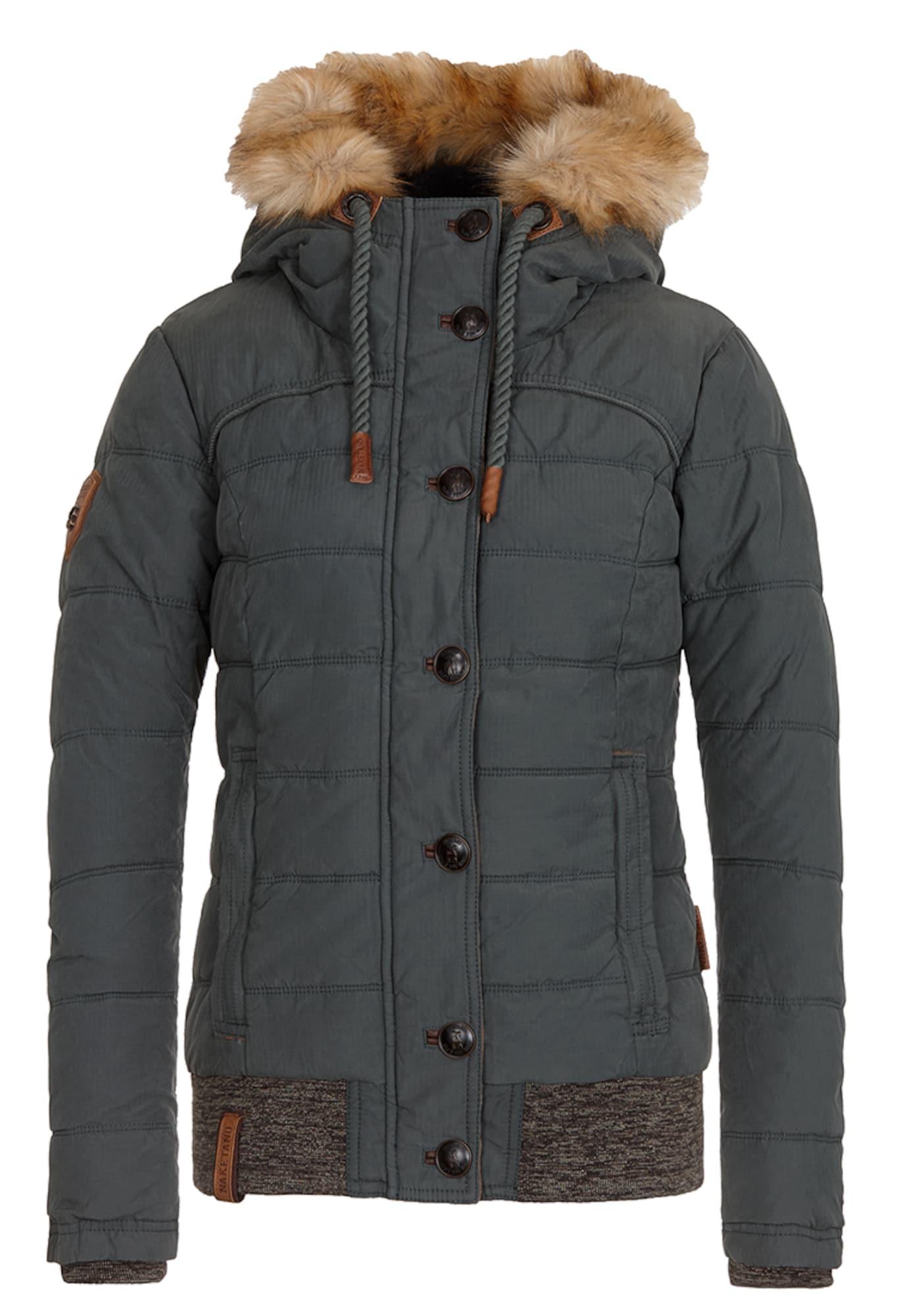 Zimní bunda Danger Klaus tmavě zelená Naketano