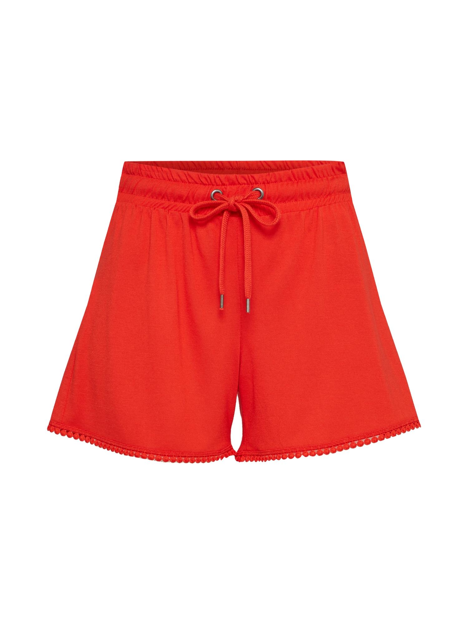 Kalhoty červená VERO MODA