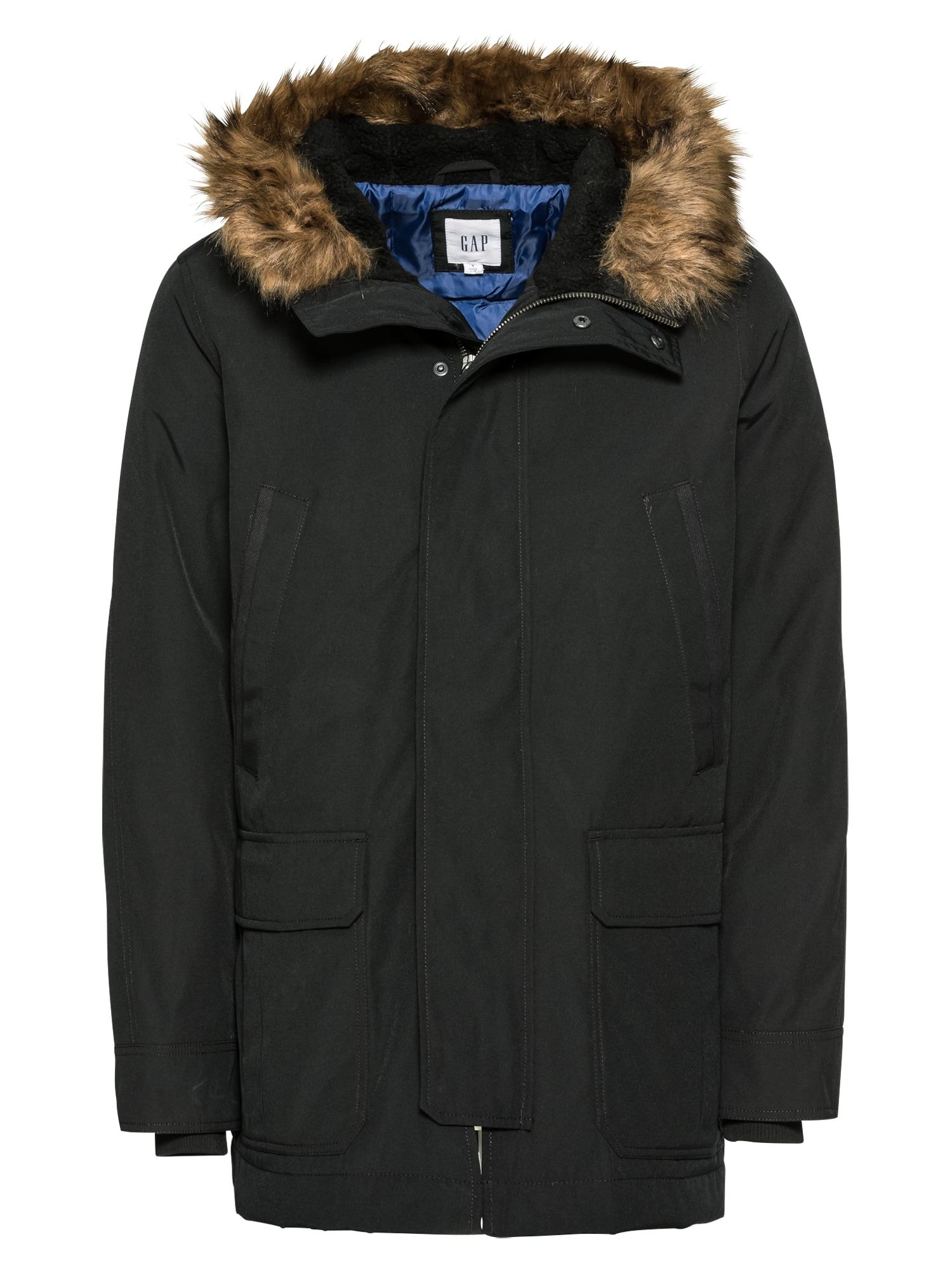 GAP Zimní bunda 'TB SNORKEL FUR'  černá