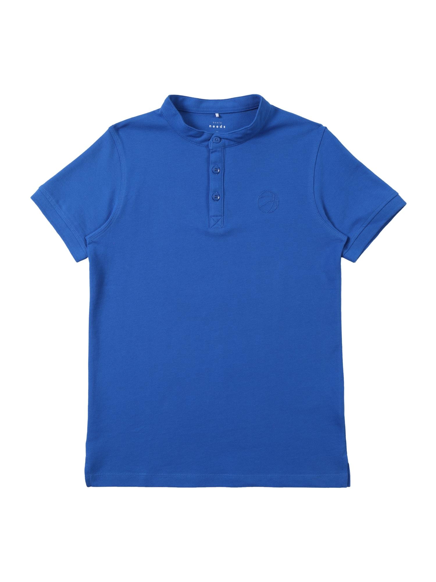 NAME IT Tričko 'VALLO'  modré