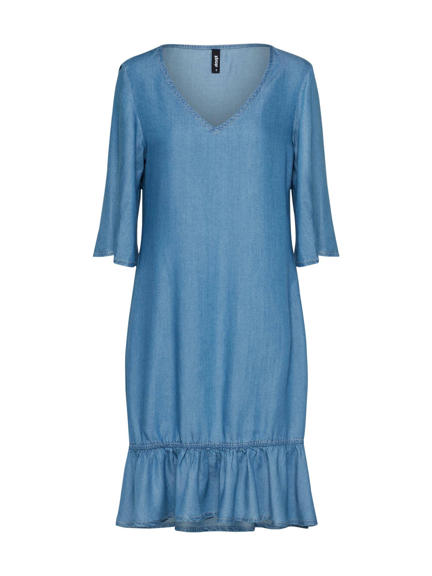 Šaty LYO modrá džínovina Eksept