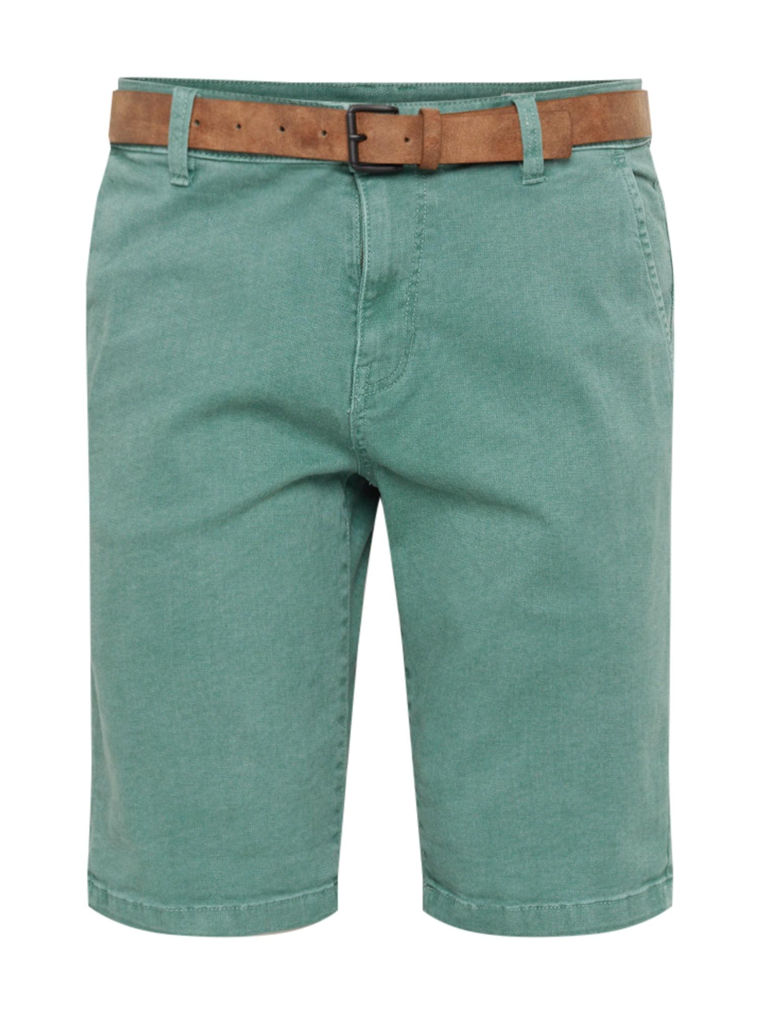 Chino kalhoty světle zelená TOM TAILOR DENIM