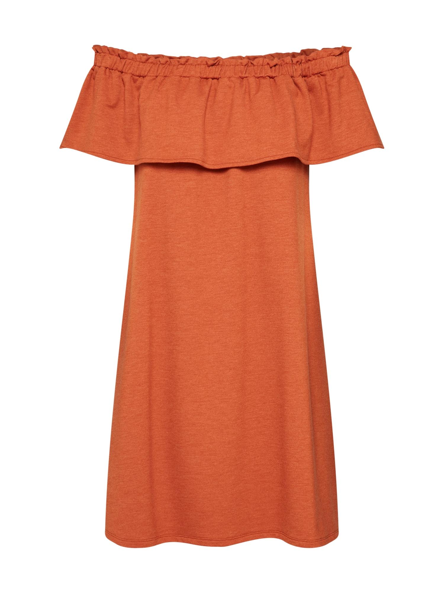 Šaty Orelia oranžová ABOUT YOU