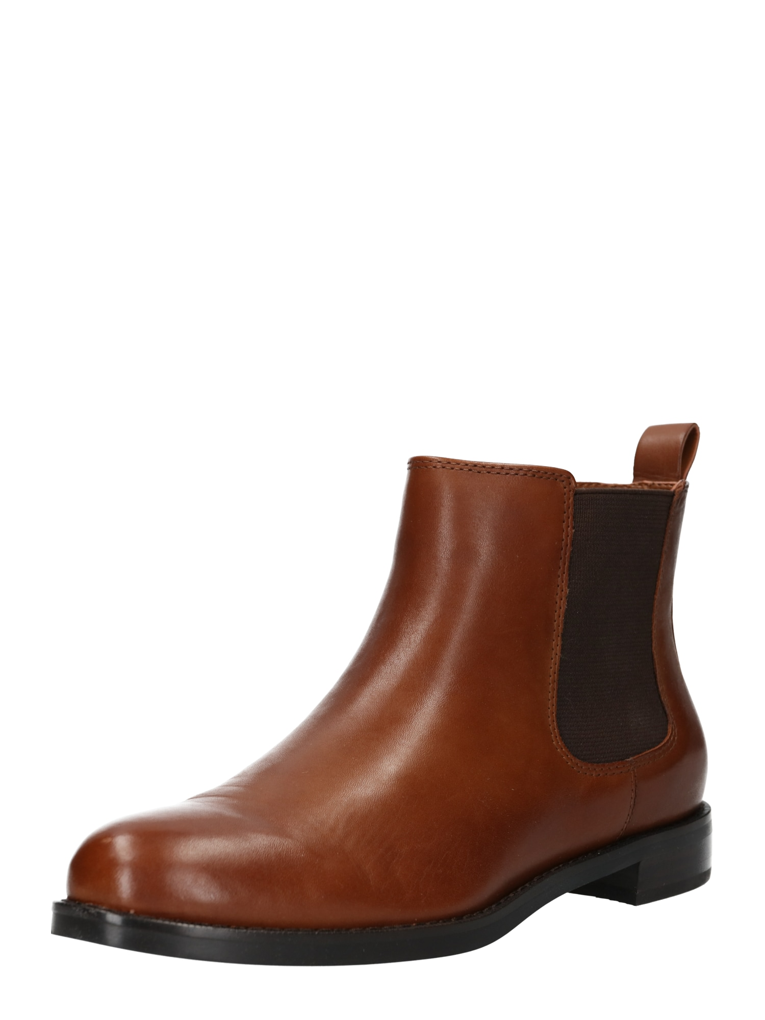 Chelsea boty HAANA-BOOTS-CASUAL hnědá Lauren Ralph Lauren
