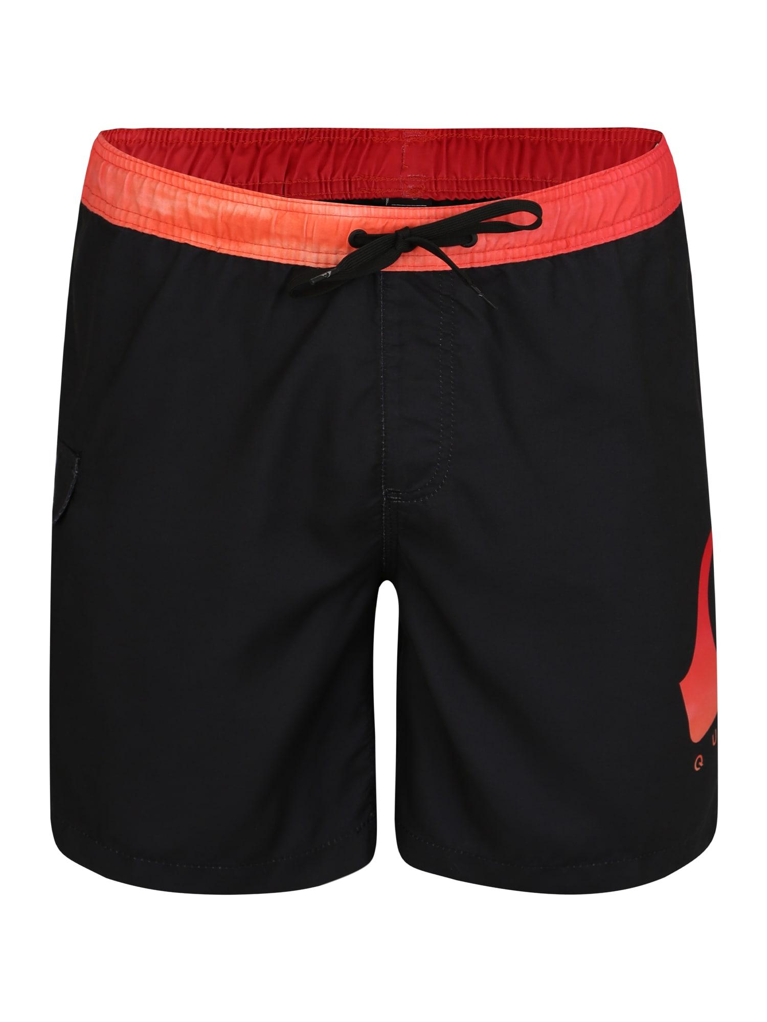 Plavecké šortky CRITICAL VOLLEY 17 černá QUIKSILVER