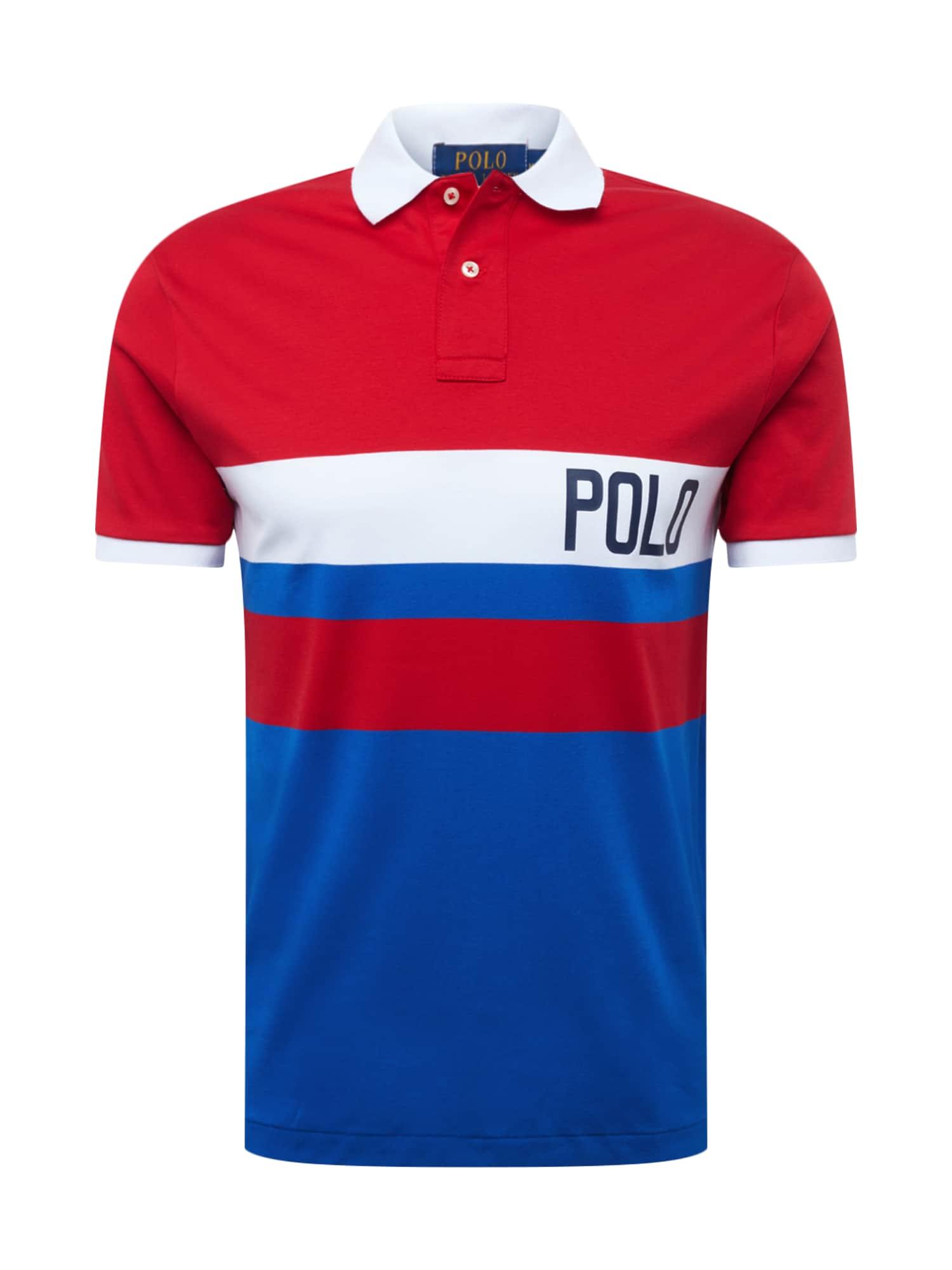 Tričko SOFT TOUCH modrá červená bílá POLO RALPH LAUREN