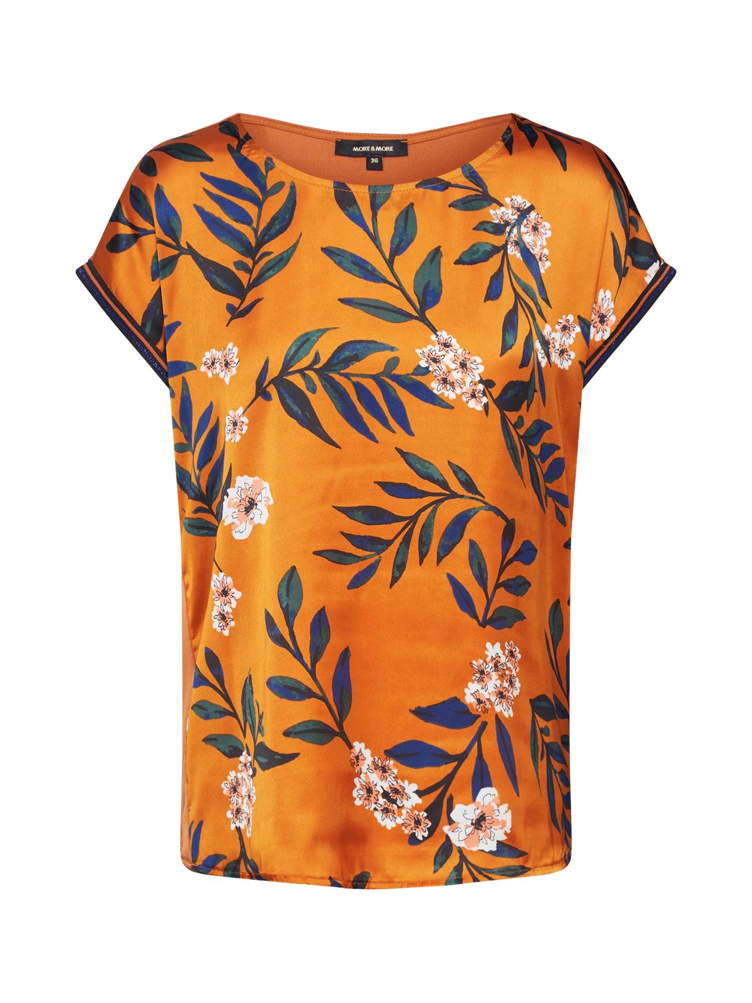 MORE & MORE Tričko  mix barev / oranžová