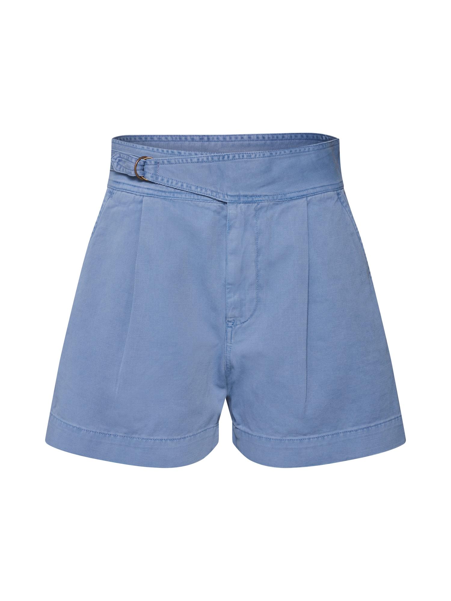 Kalhoty N ELRA SOT-TAILORED-SHORT modrá POLO RALPH LAUREN