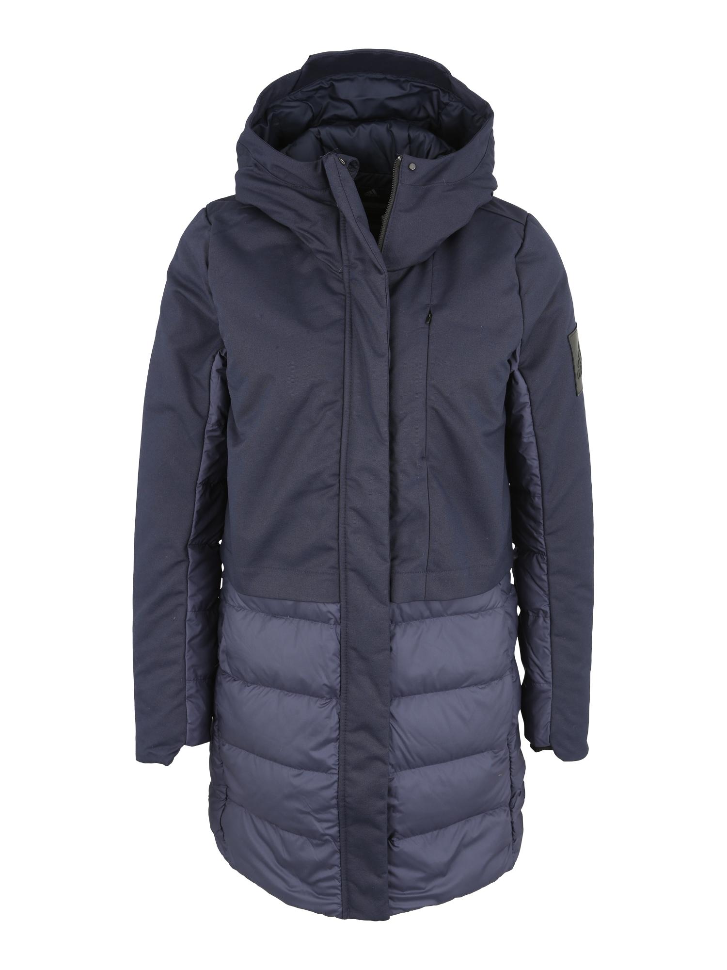 Outdoorový kabát tmavě modrá ADIDAS PERFORMANCE