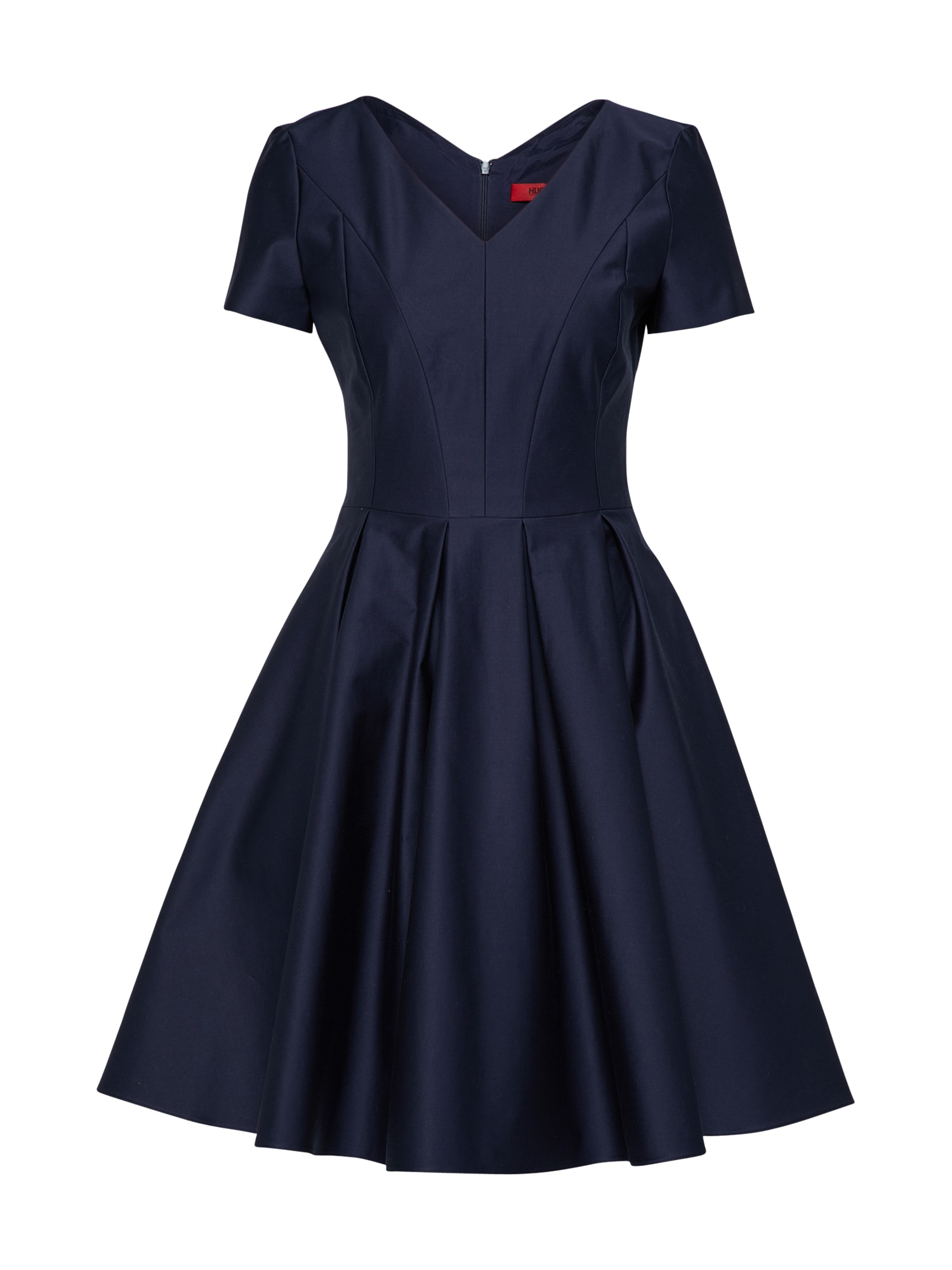 Koktejlové šaty Katemi marine modrá HUGO