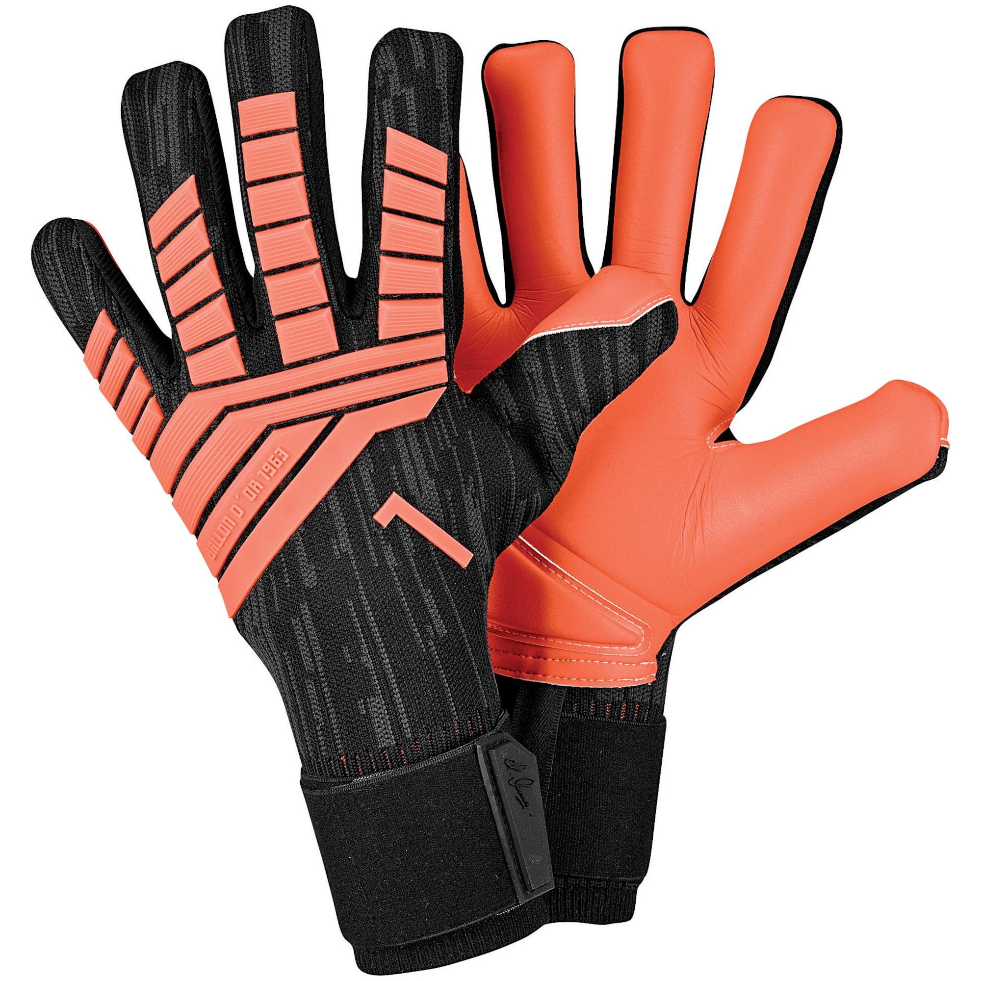 ADIDAS PERFORMANCE, Jongens Handschoenen 'PREDATOR', donkeroranje / zwart